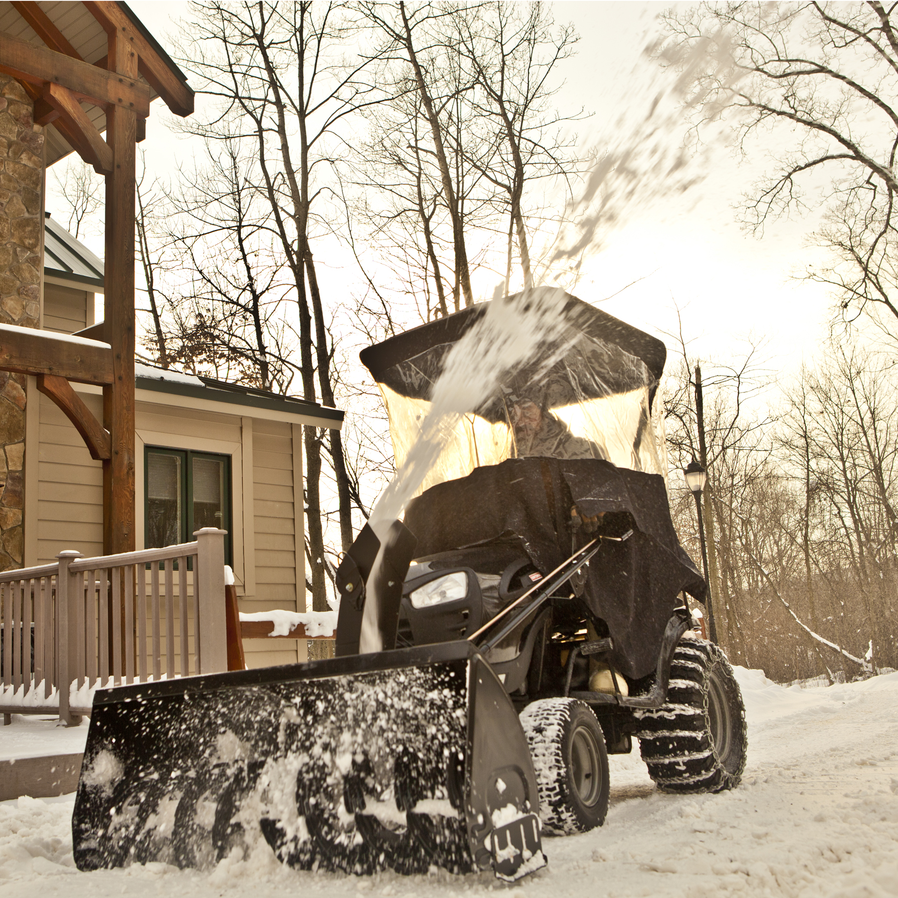 Craftsman Dual-Stage Snow Blower Tractor Attachment