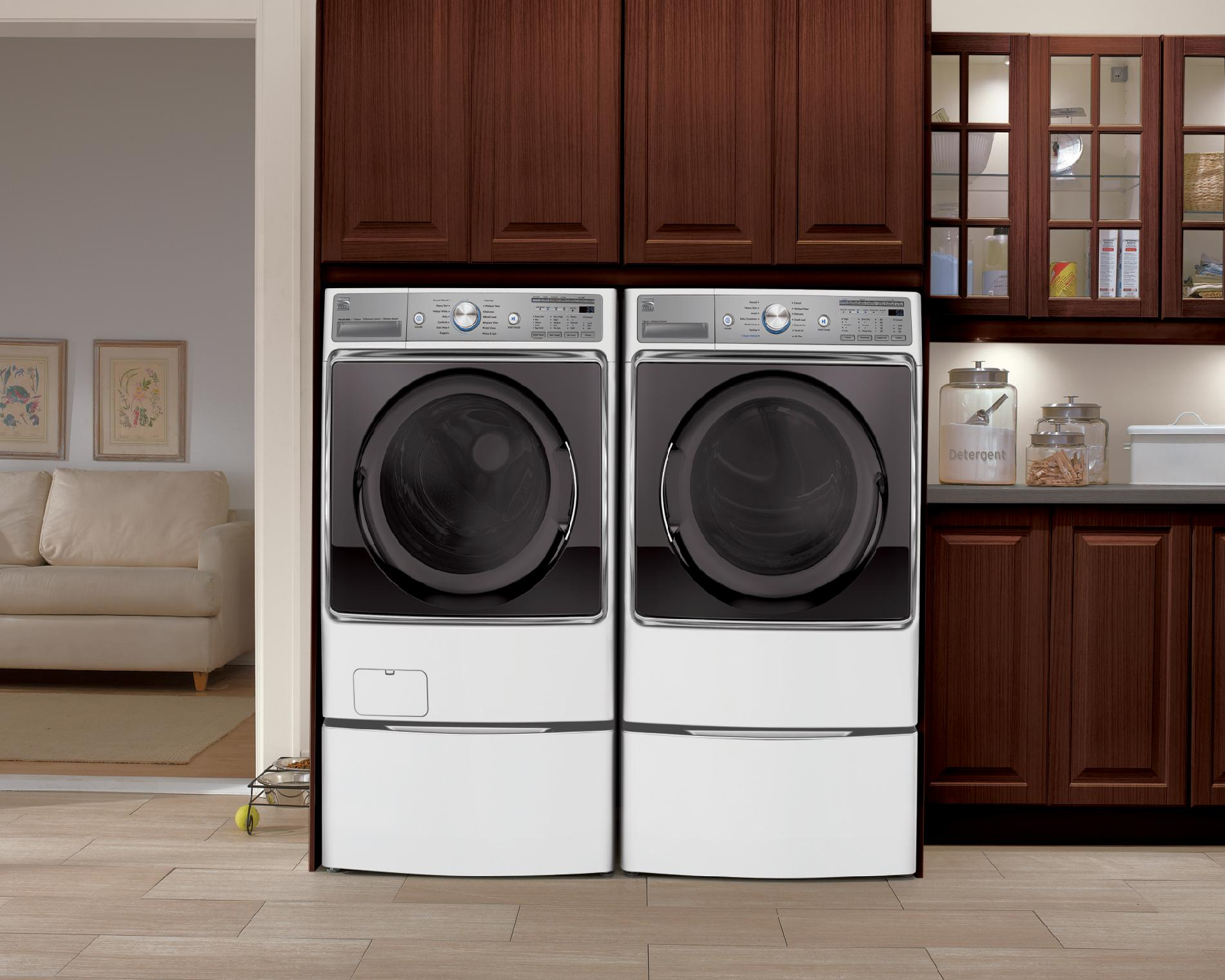 Kenmore Elite 9.0 cu. ft. Gas Dryer - White