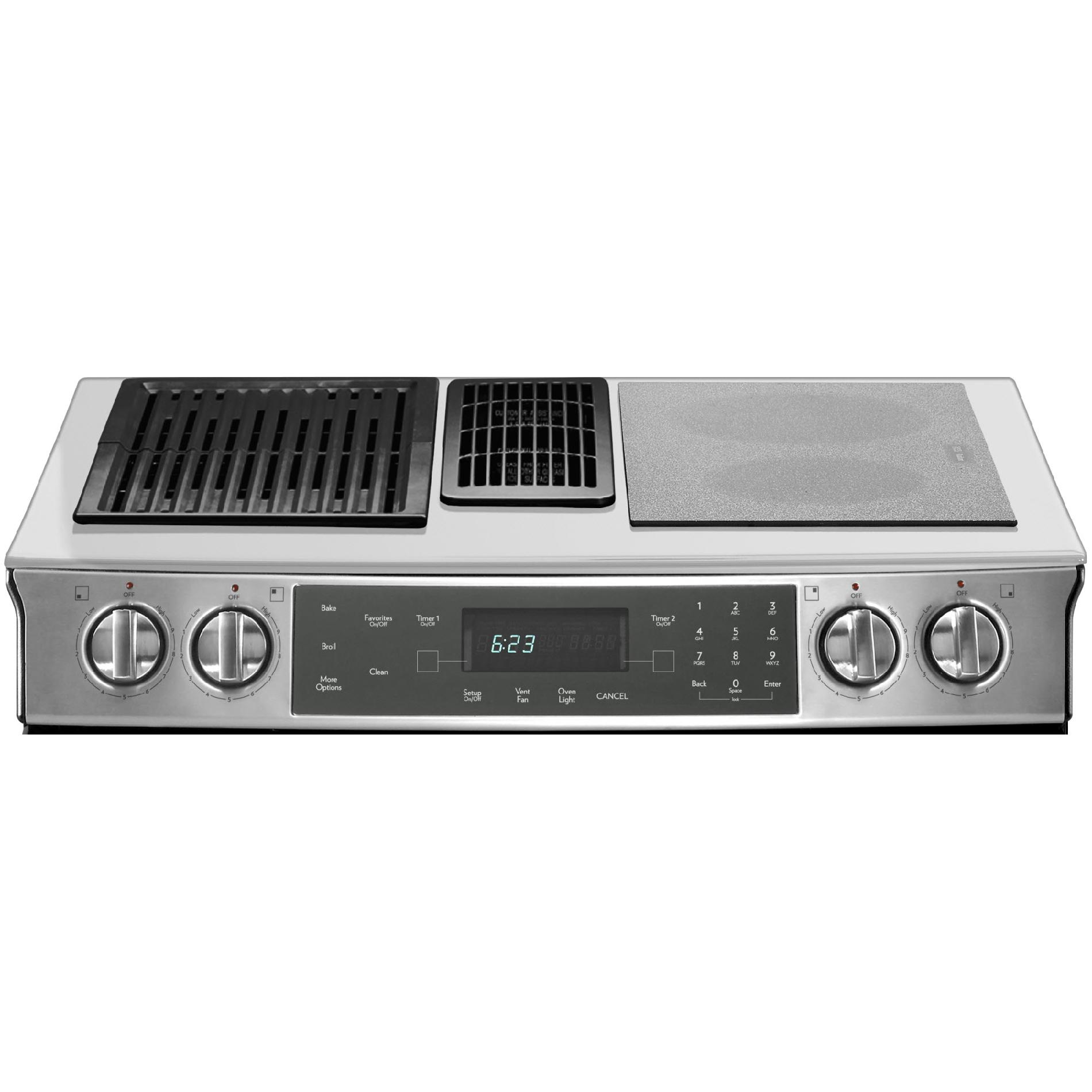 "Jenn-Air 30"" Slide-In Modular Electric Downdraft Range"