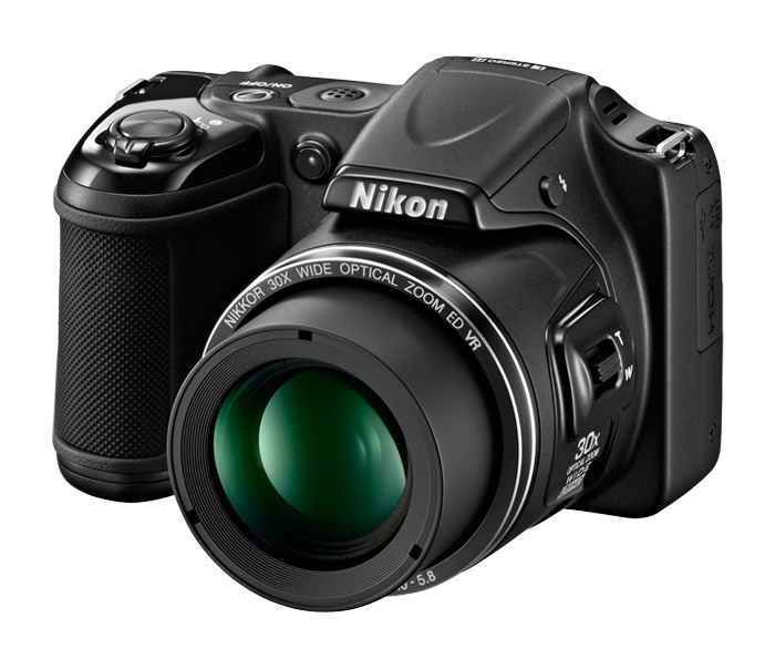 Nikon 16.1MP COOLPIX® L820 Digital Camera Black