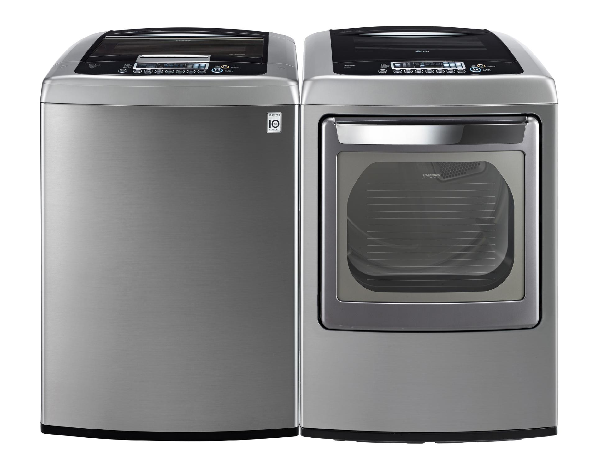 LG 4.3 cu. ft. High-Efficiency Top-Load Washer - Graphite Steel