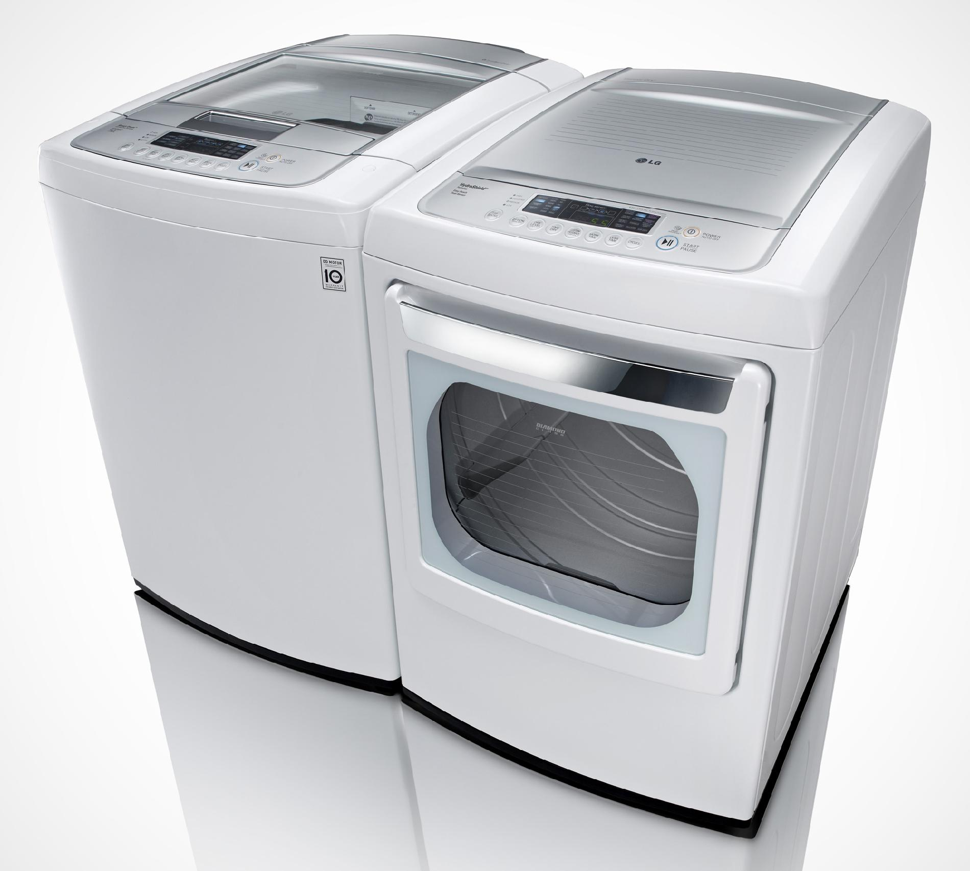 LG 7.3 cu. ft. Electric Dryer w/ SteamFresh™ - White