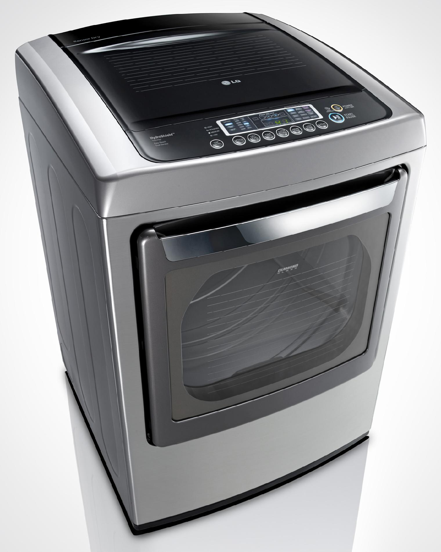 LG 7.3 cu. ft. Electric Dryer w/ SteamFresh™ - Graphite Steel
