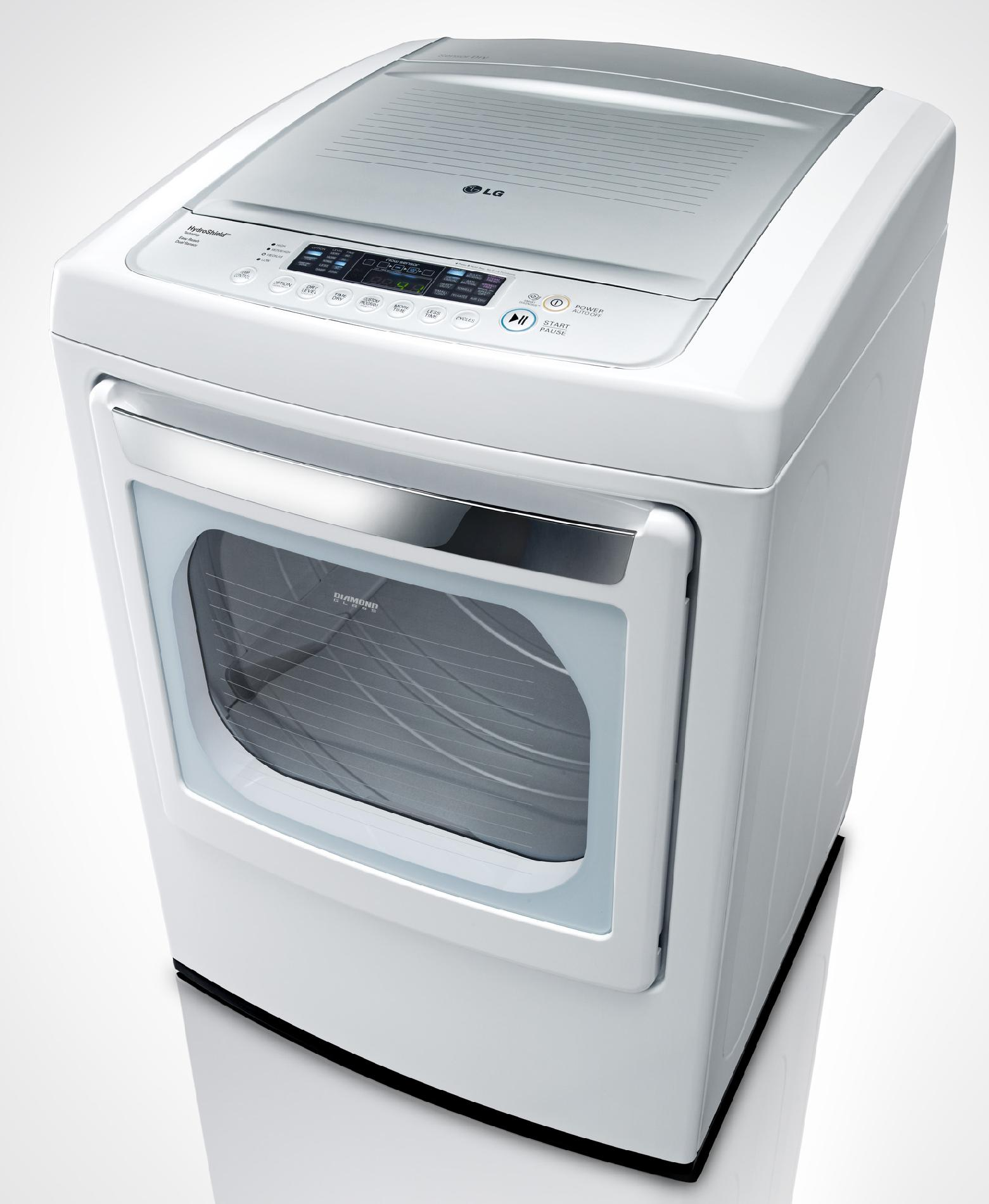 LG 7.3 cu. ft. Gas Dryer w/ SteamFresh™ - White
