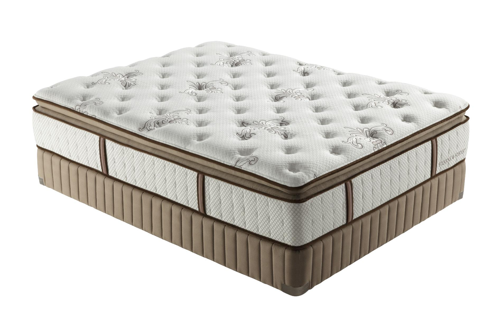 Stearns & Foster Estate Chasity Plush Euro Pillowtop King Mattress Only