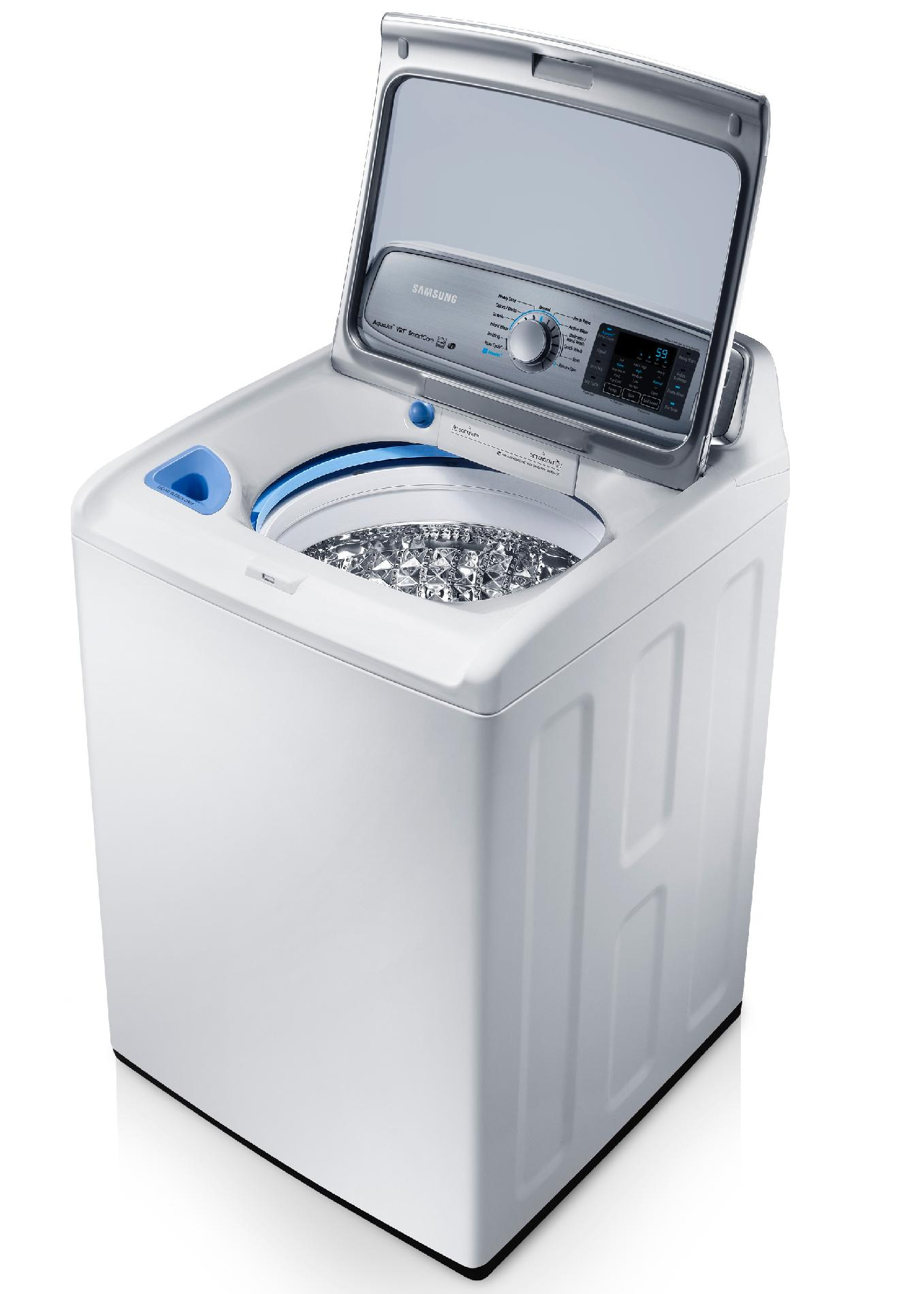 Samsung 5.0 cu. ft. Top-Load Washer - Neat White