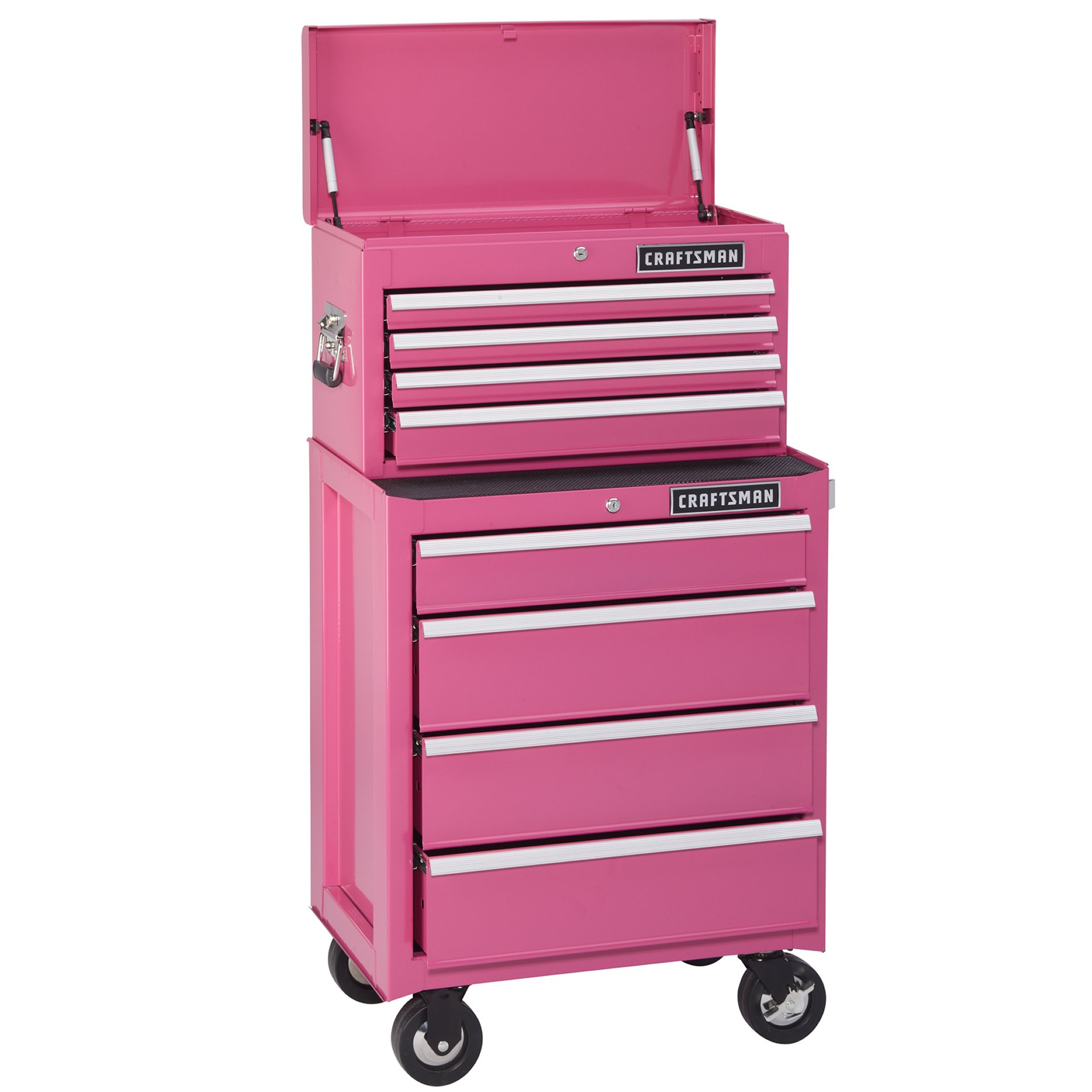 Craftsman CLOSEOUT!  4-Drawer Ball-Bearing Top Chest - Pink