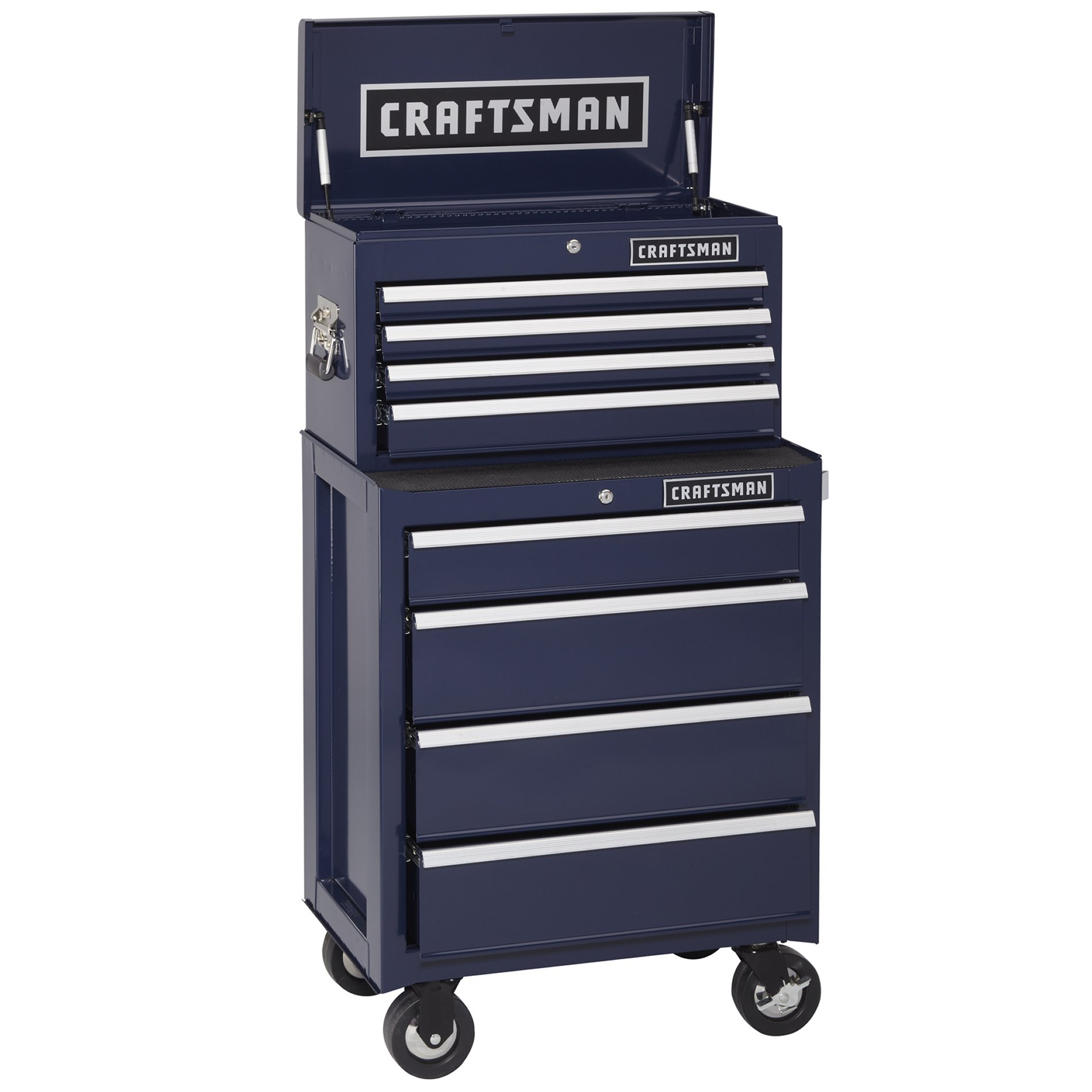Craftsman CLOSEOUT!  4-Drawer Ball-Bearing Top Chest - Midnight Blue