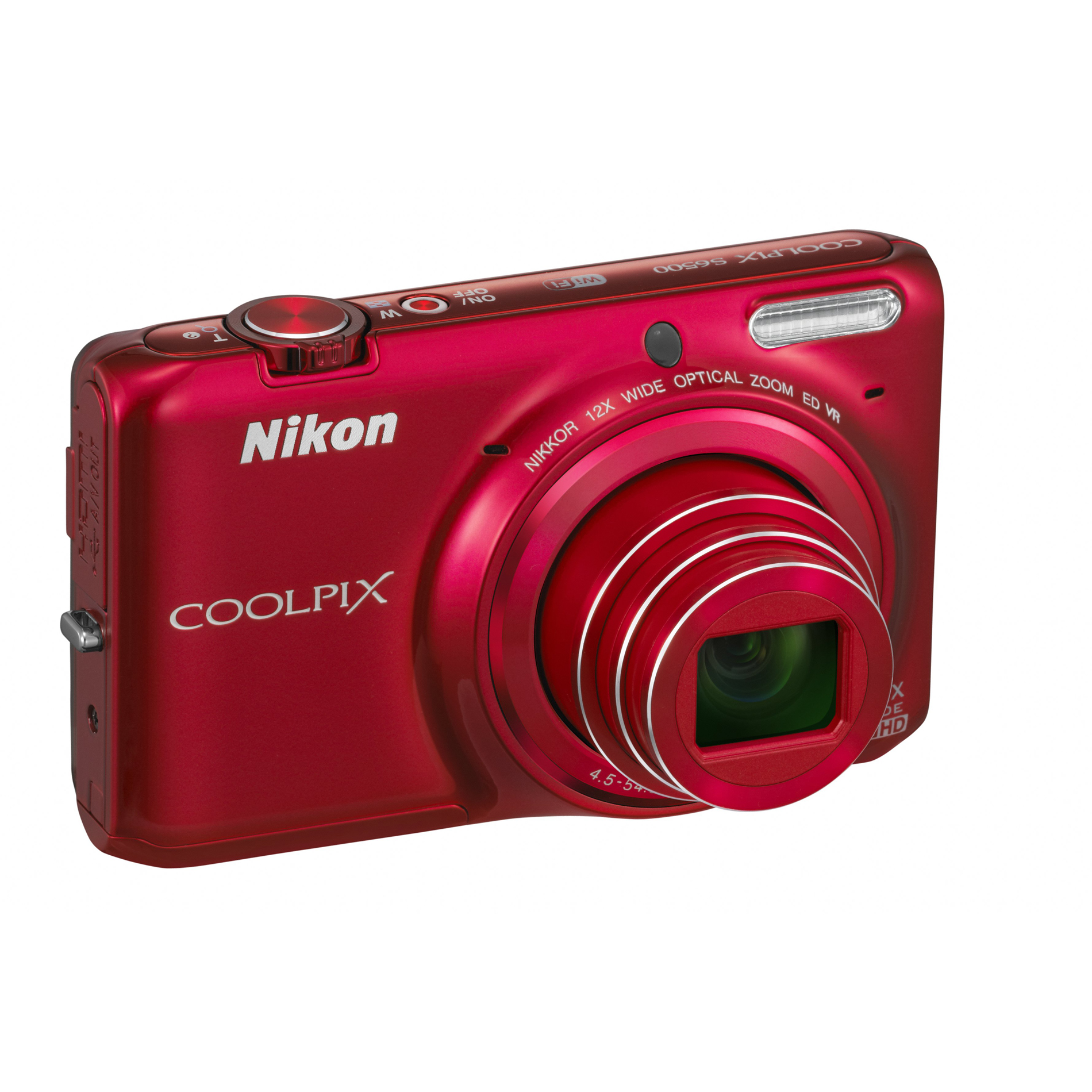 Nikon CoolPix 16MP Digital Camera S6500 - Red