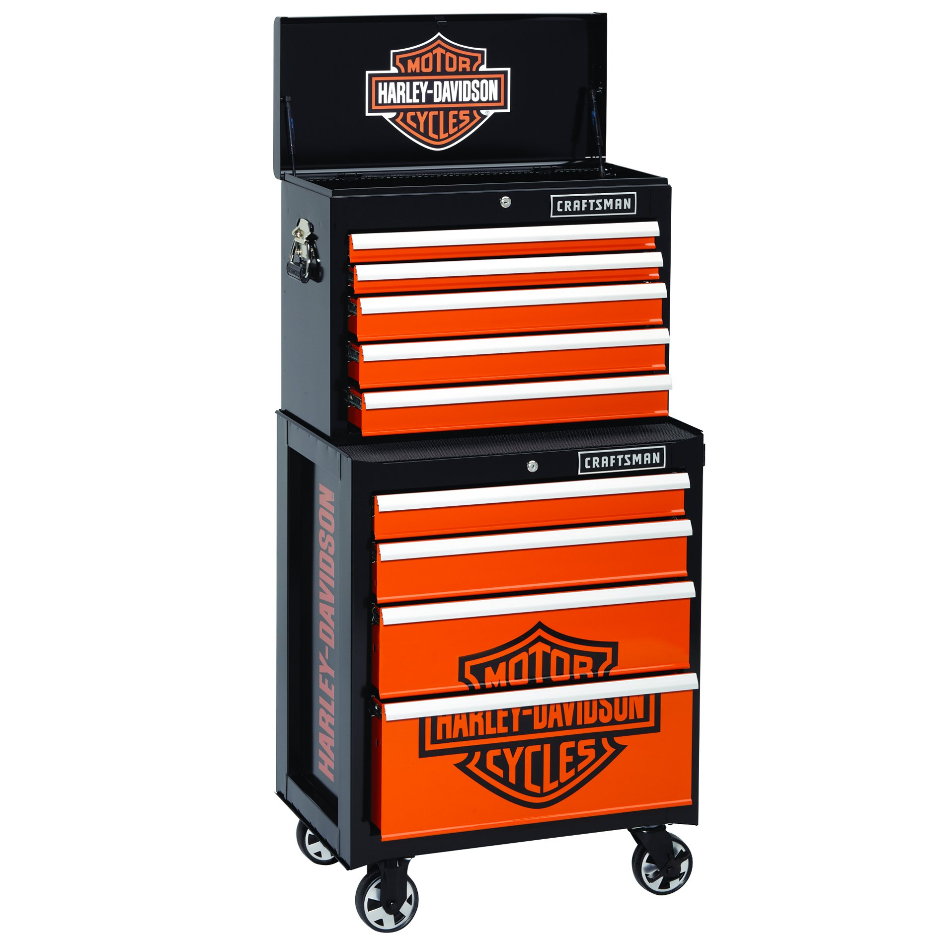 Craftsman® and Harley Davidson® Tool Storage Combination (Items Sold Separately)