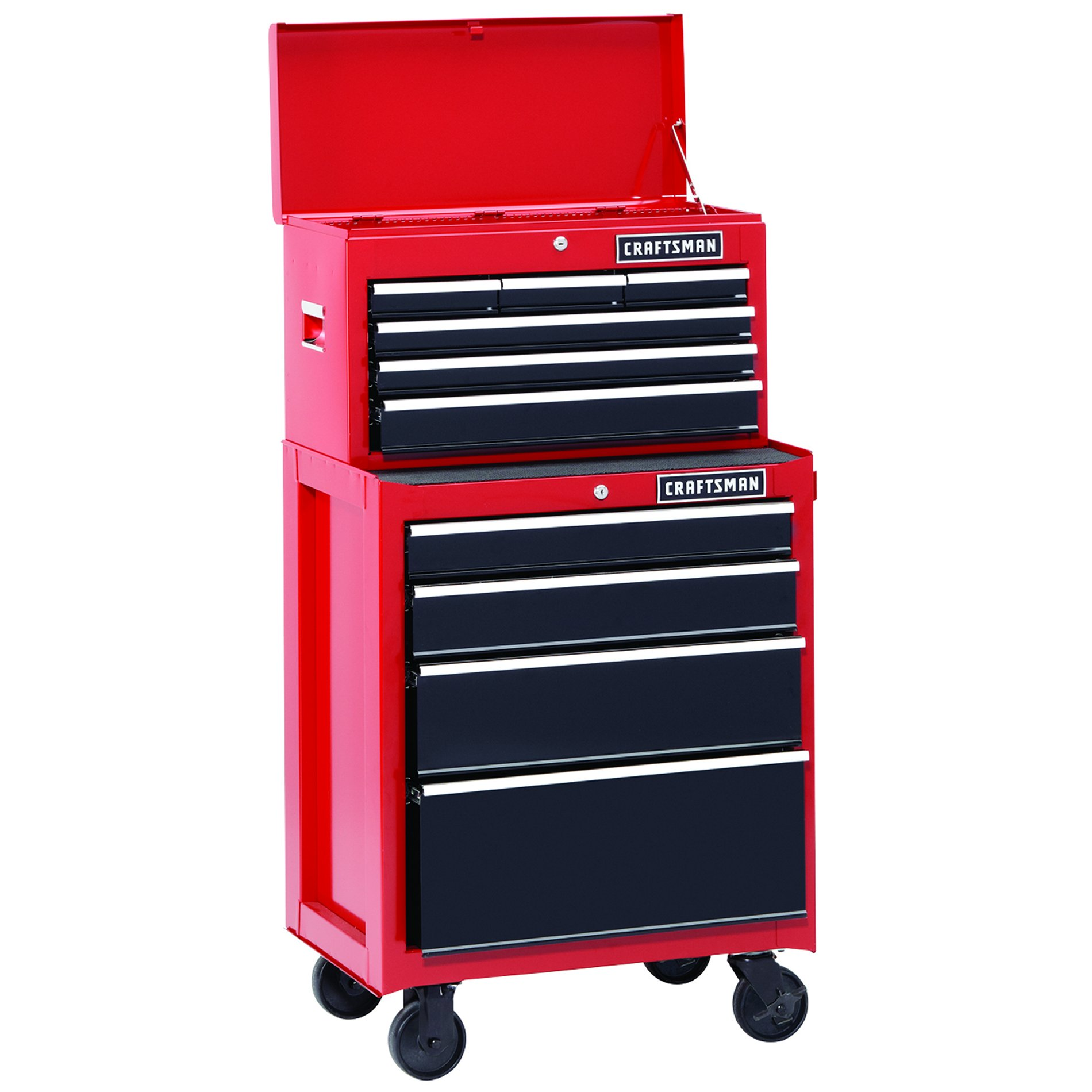 Craftsman 26 in. 6-Drawer Heavy-Duty Ball Bearing Top Chest