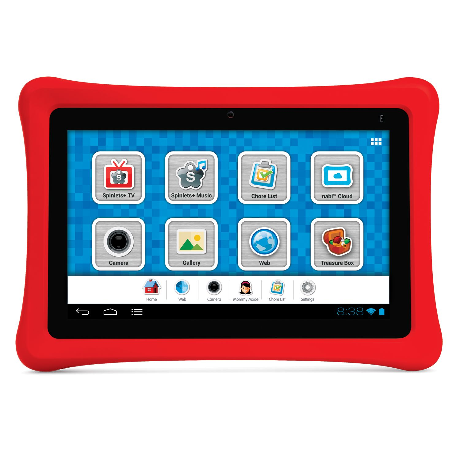 "Fuhu NABI 7"" Tablet w/ 1.3GHz Quad-core Nvidia Tegra 3 & Android 4.0 Ice Cream Sandwich"