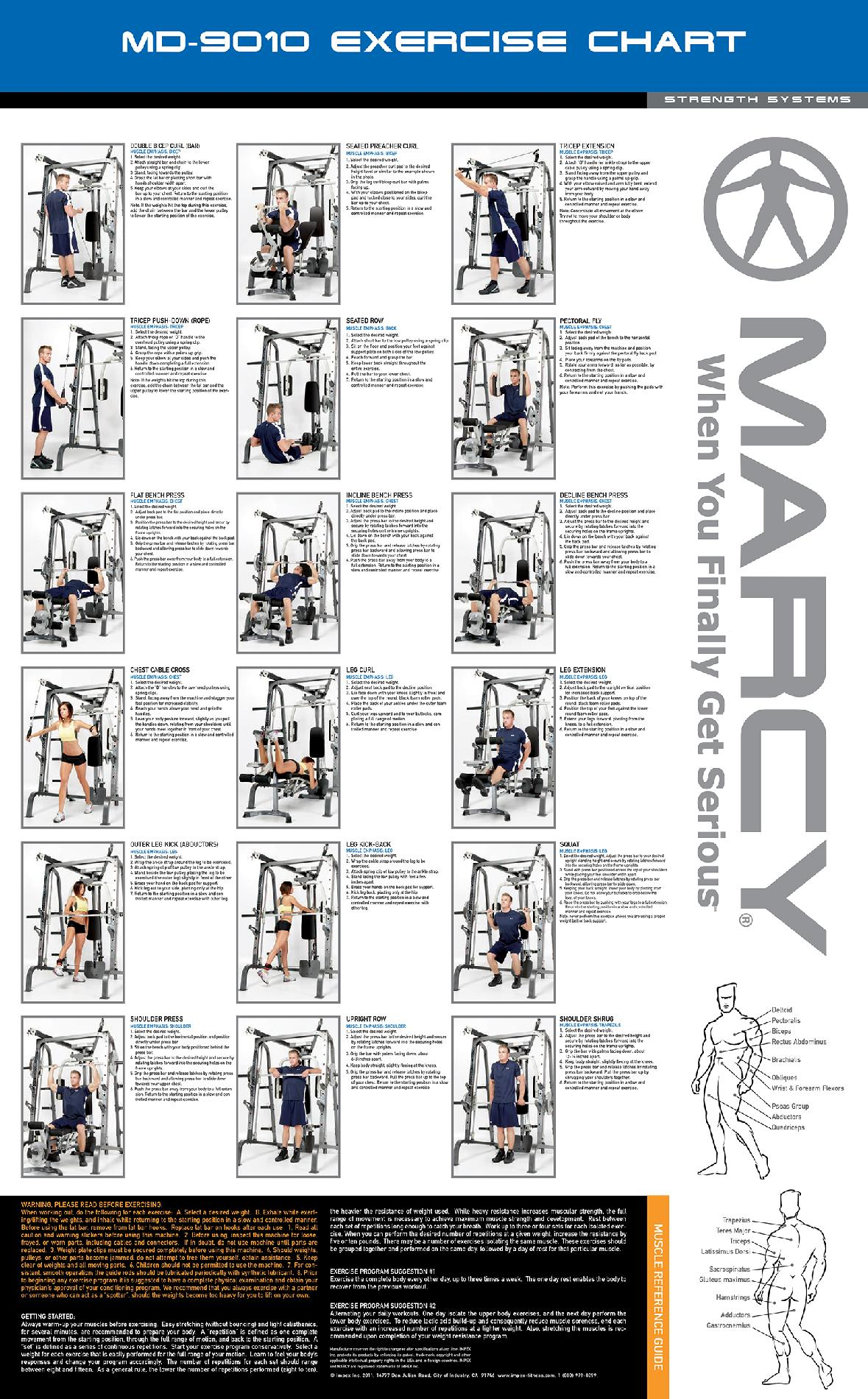 Marcy Diamond Elite Personal Trainer Cage System