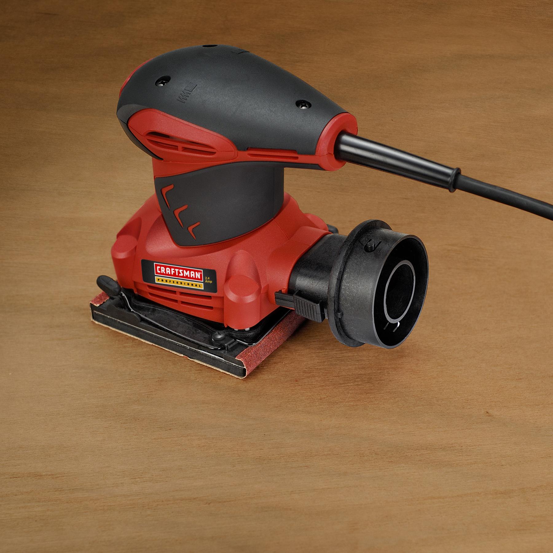 "Craftsman Professional 27670 2.4 amp Corded 1/4"" Pad Sander"