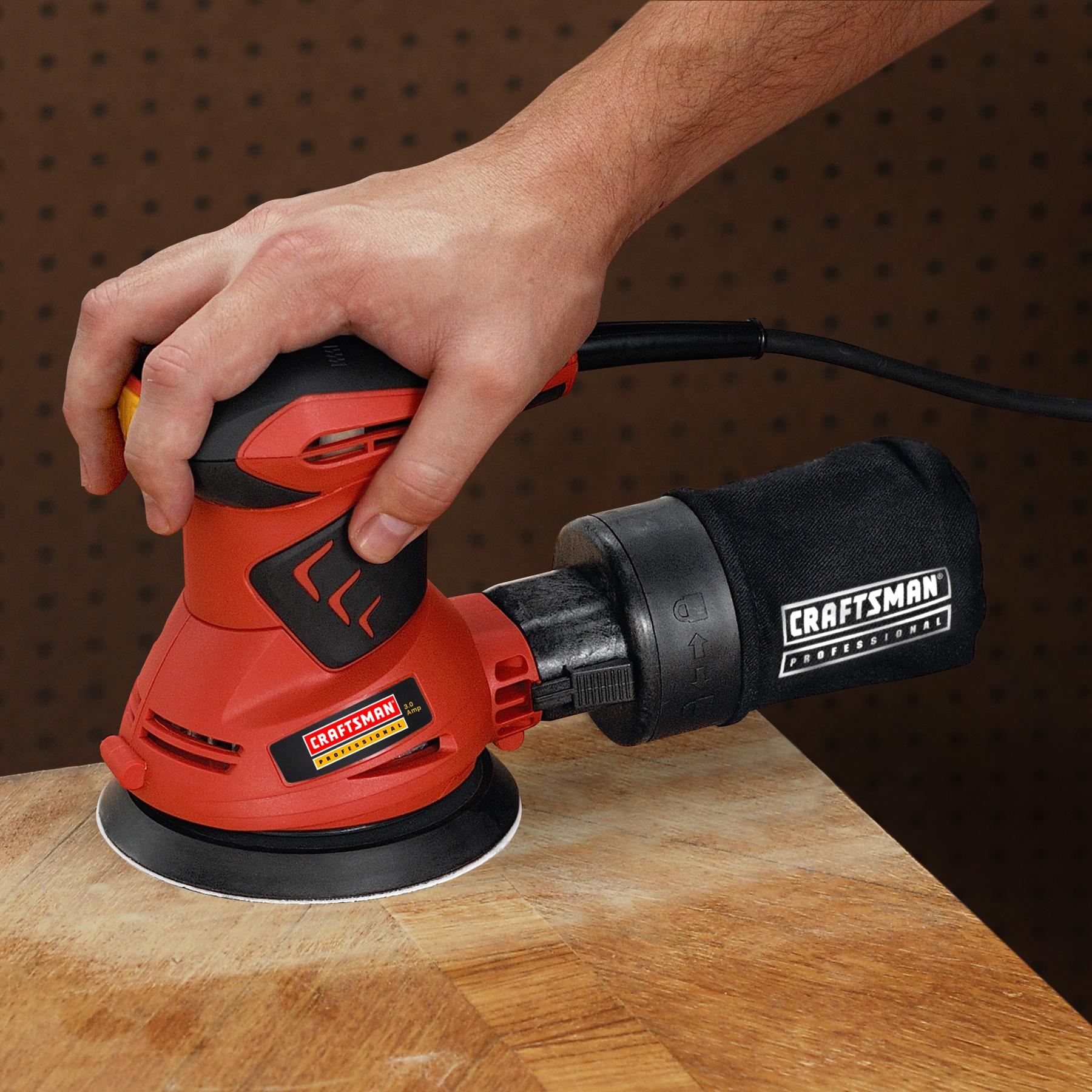 "Craftsman Professional 27675 3.0 amp Corded 5"" Random Orbit Sander"