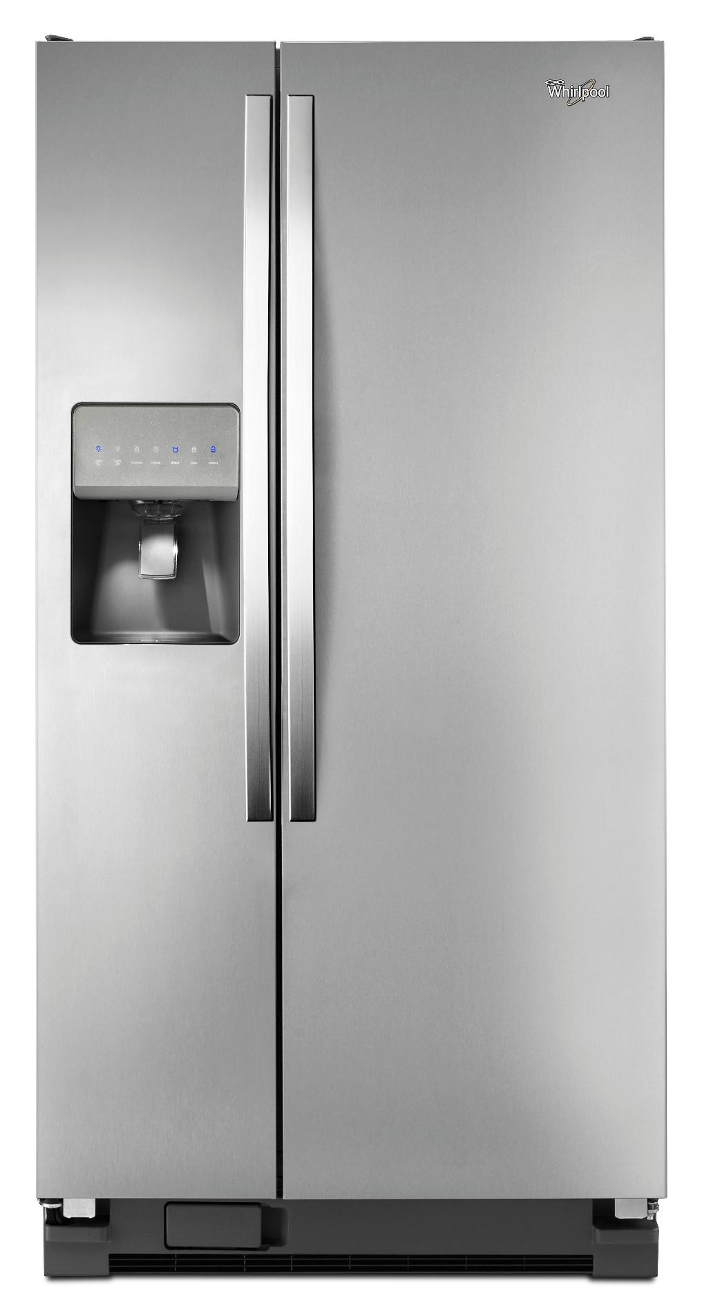 Whirlpool WRS322FDAM 21 cu. ft. Side-by-Side Refrigerator w/ Accu-Chill™ - Stainless Steel