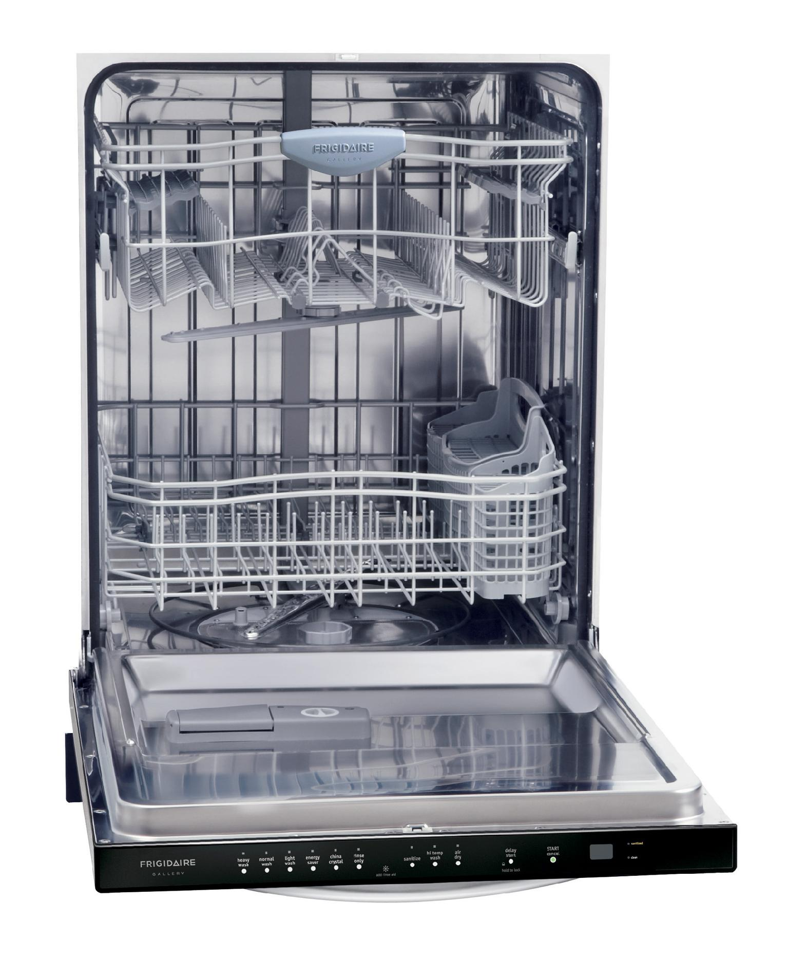 "Frigidaire Gallery Gallery 24"" Built-In Dishwasher  - Stainless Steel"