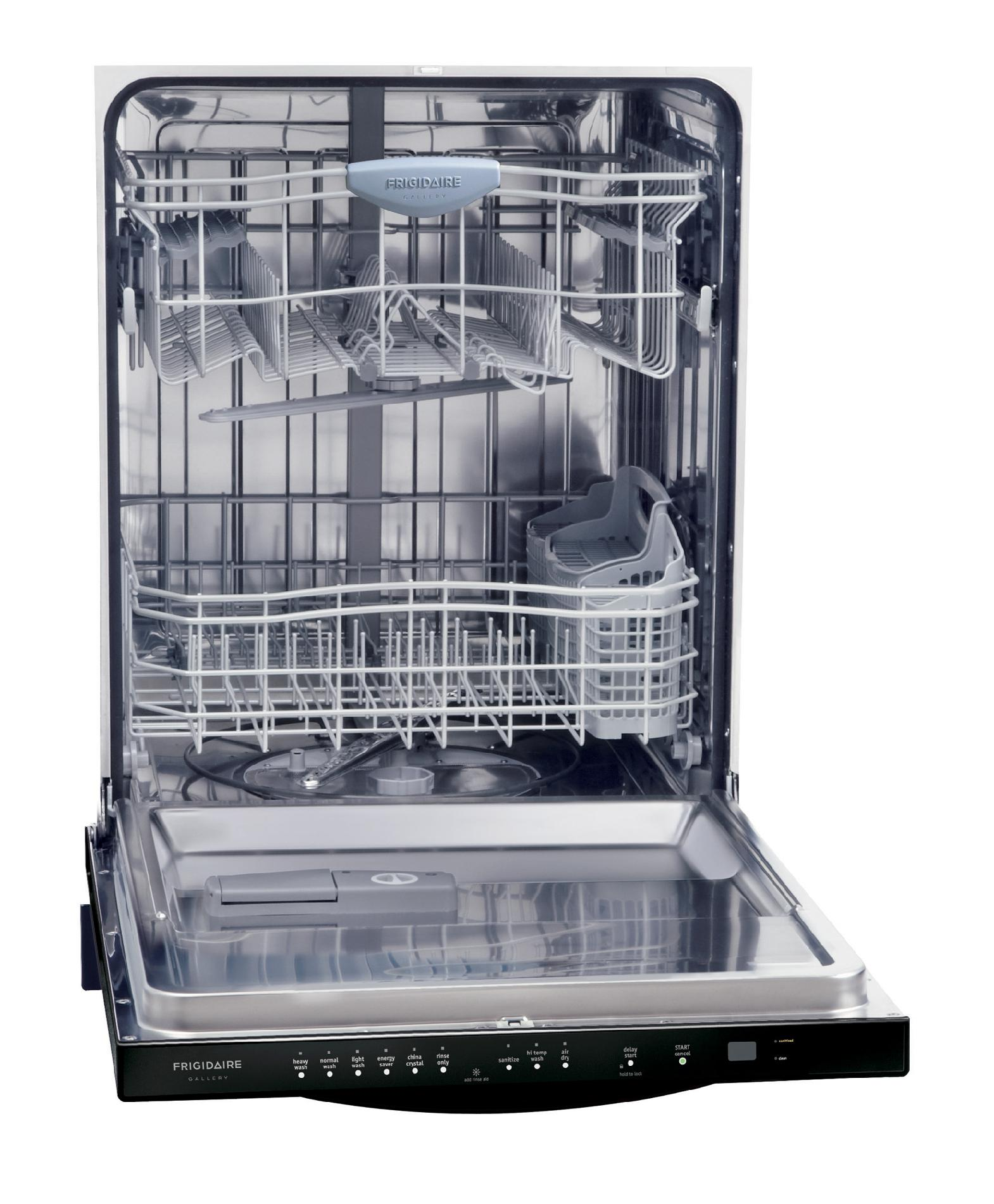 "Frigidaire Gallery Gallery 24"" Built-In Dishwasher  - Black"
