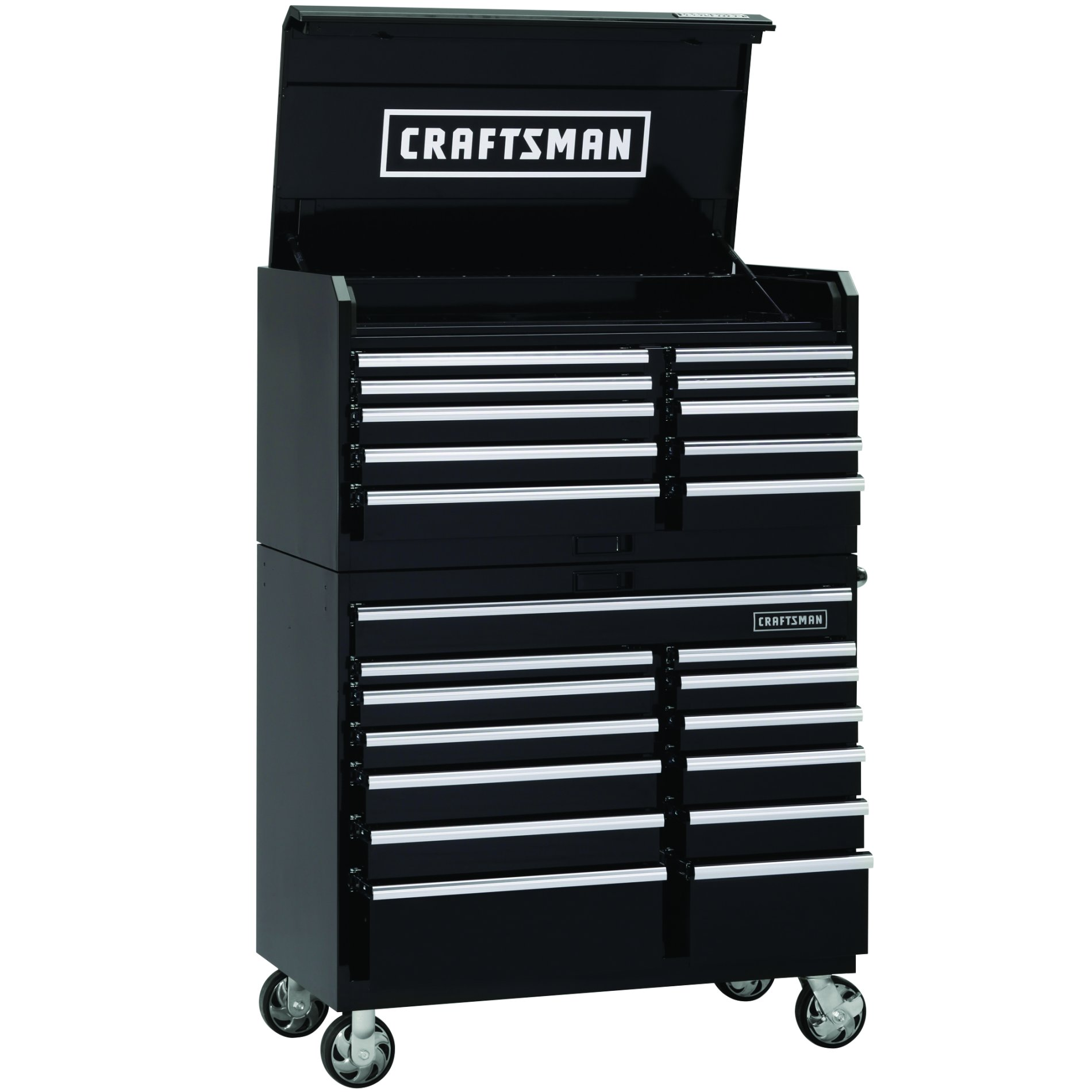 "Craftsman 46"" Wide 13-Drawer Industrial Grade Tool Cart"