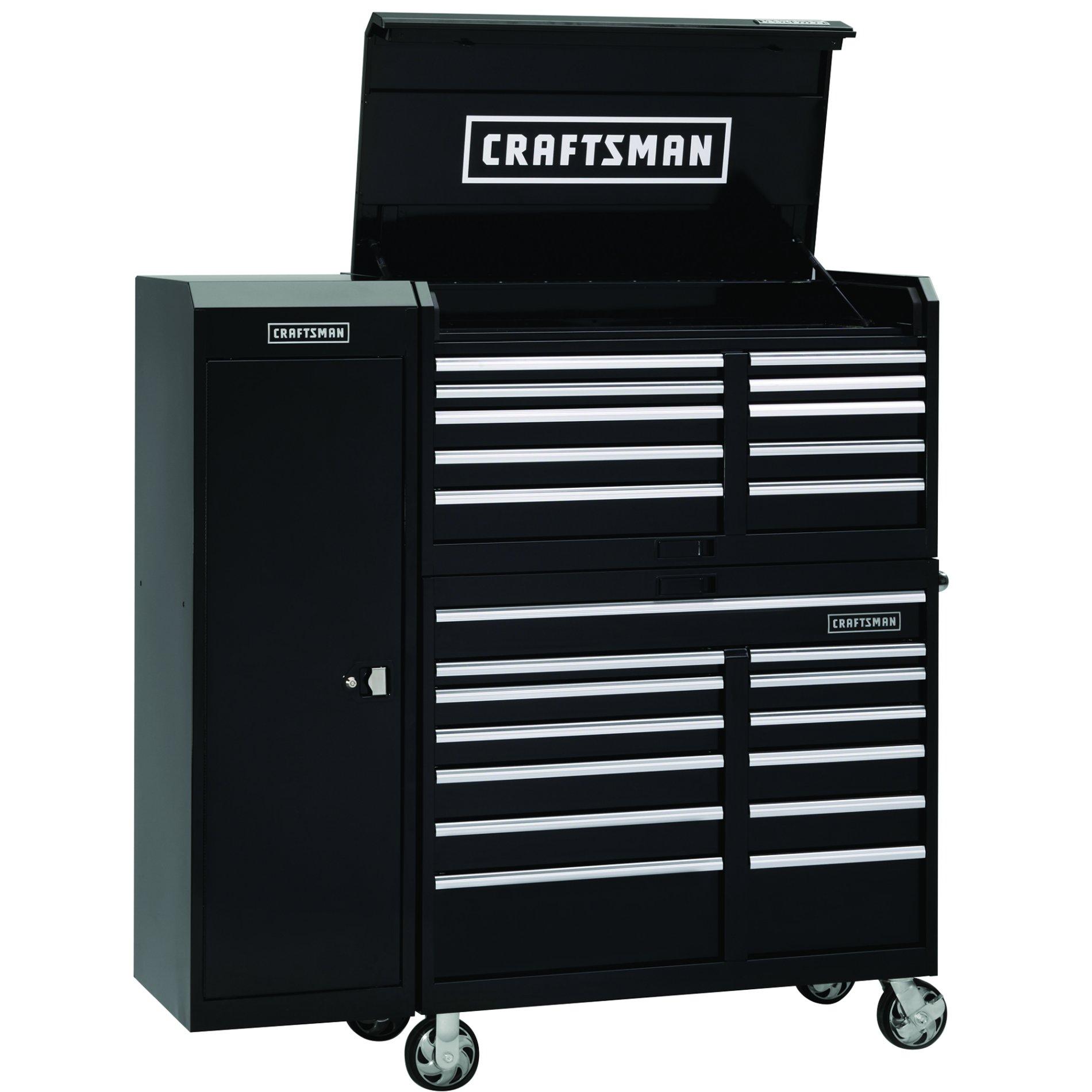 "Craftsman 46"" Wide 13-Drawer Industrial Grade Tool Cart"