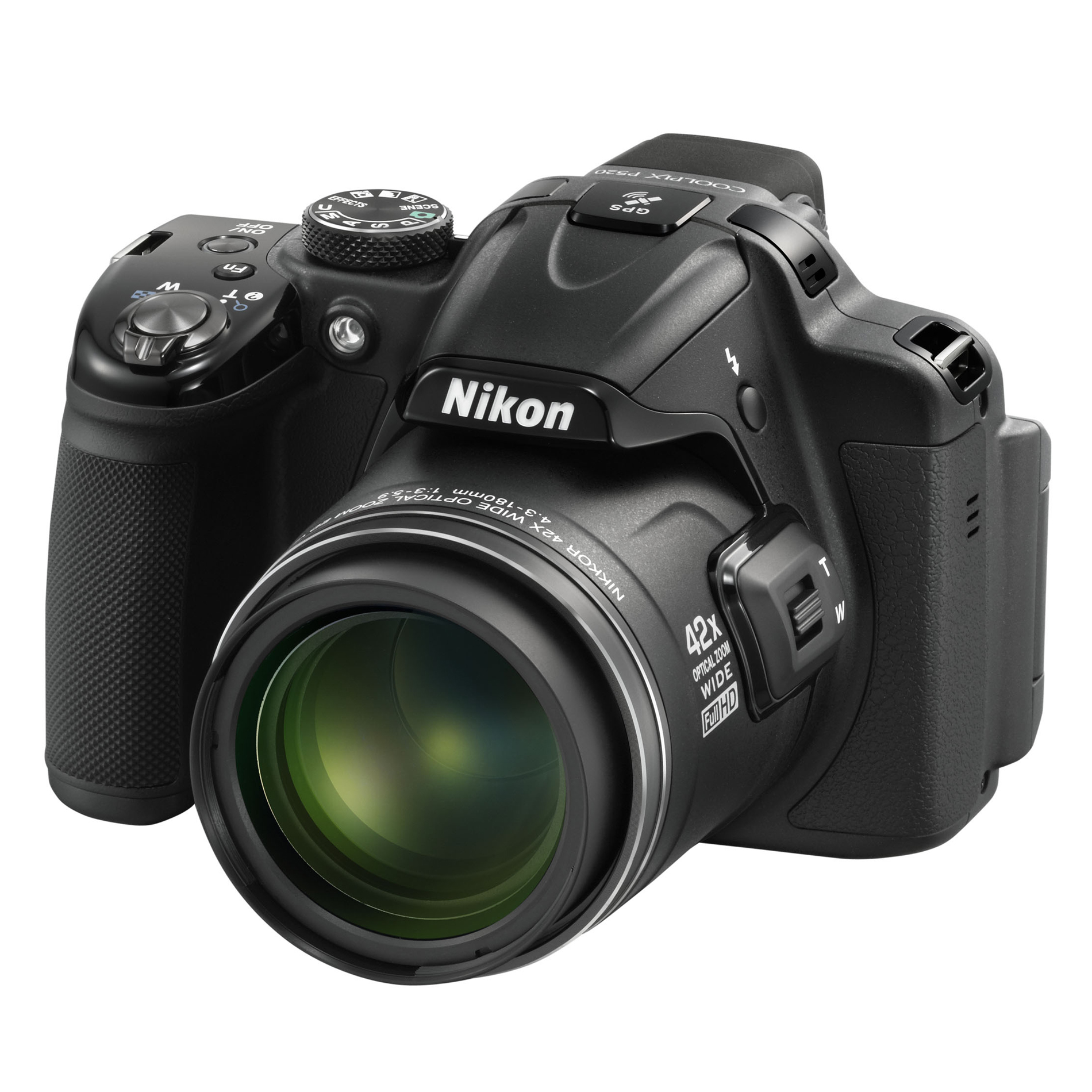 Nikon COOLPIX® 18.1 MP Digital Camera P520 - Black