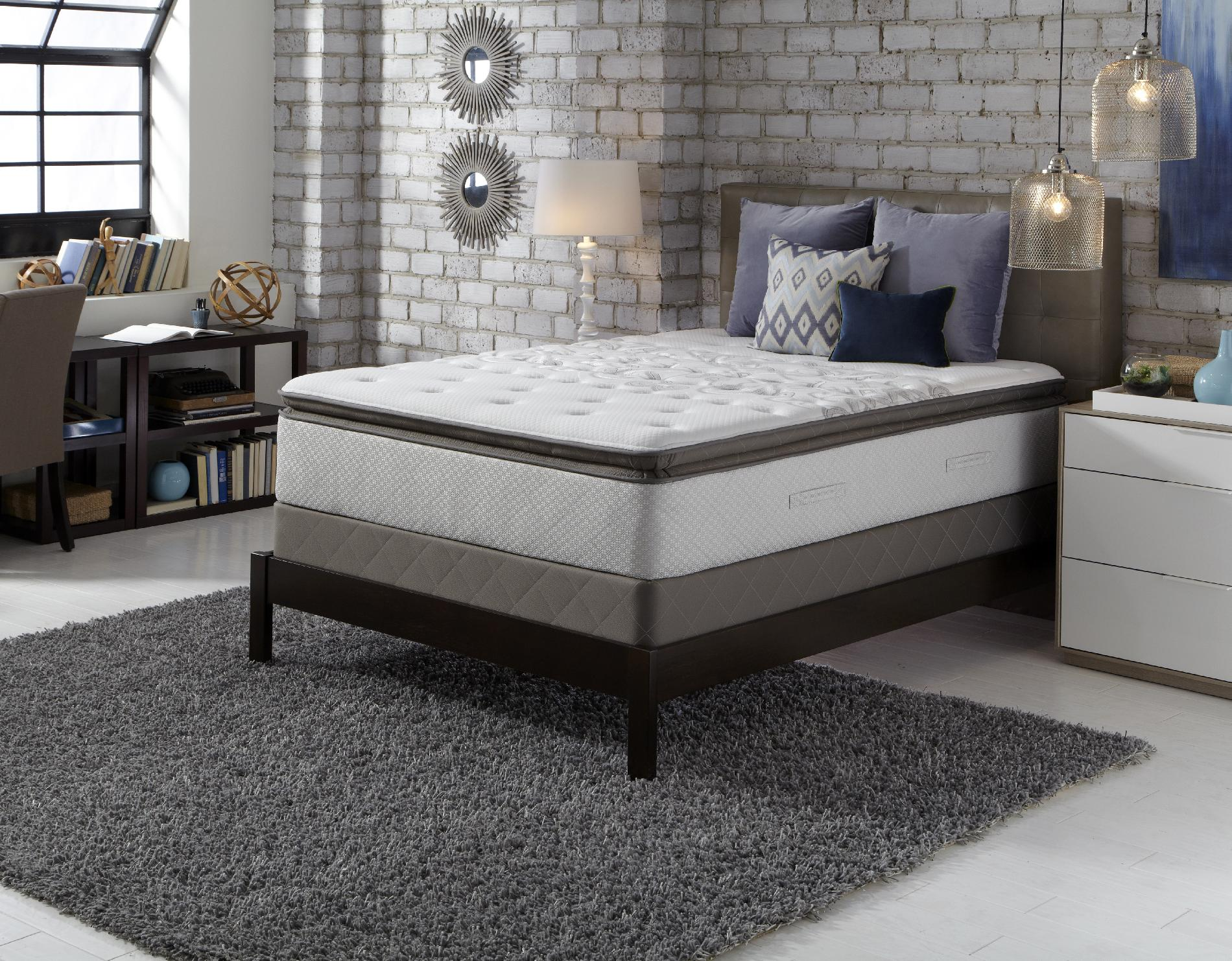 Sealy Posturepedic Fergus Falls Ti2 II, Plush Euro Pillowtop, California King Mattress Only