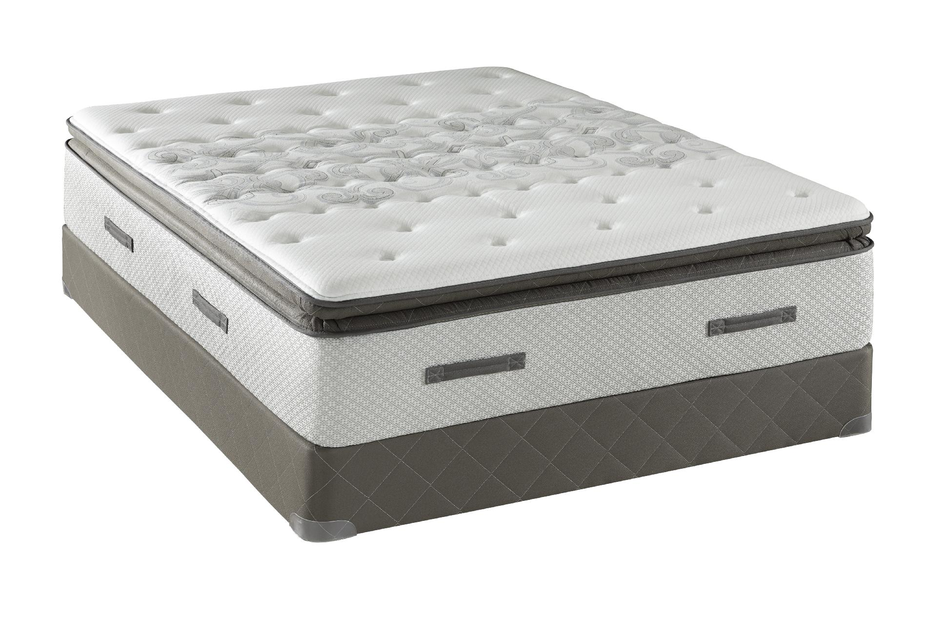 Sealy Posturepedic Granite Bay Ti2 II, Firm Euro Pillowtop, King Mattress Only