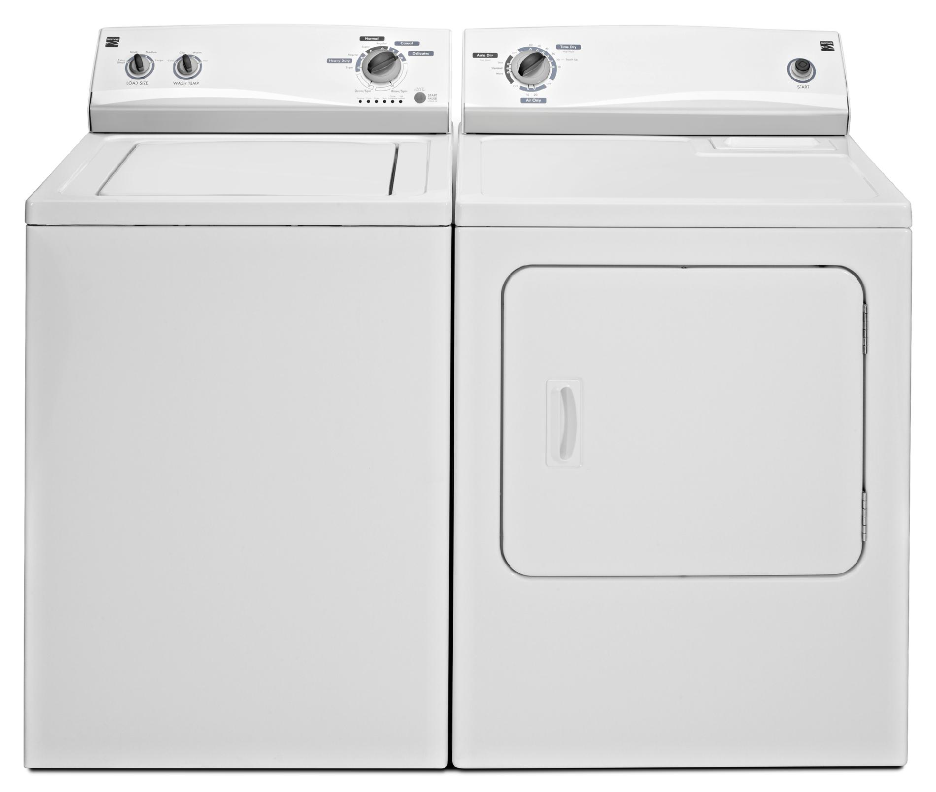 Kenmore 6.5 cu. ft. Electric Dryer - White