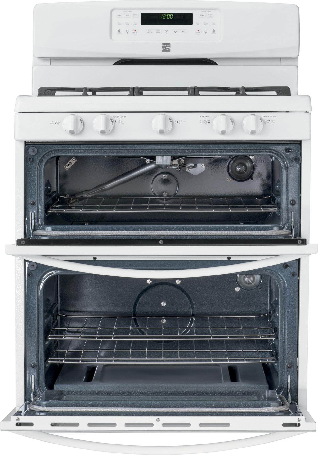 Kenmore 5.8 cu. ft. Double-Oven Gas Range - White