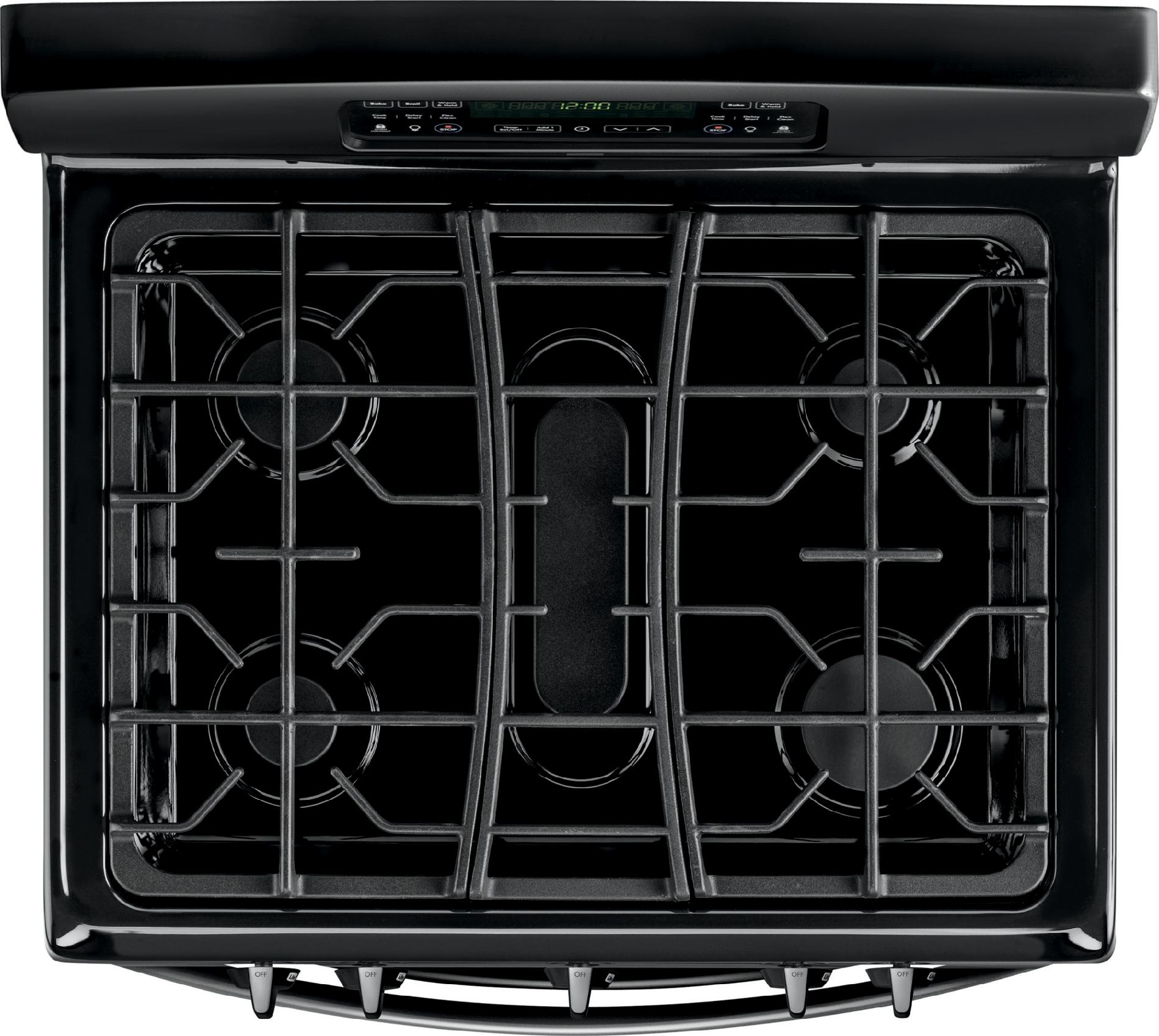Kenmore 5.8 cu. ft. Double-Oven Gas Range - Black