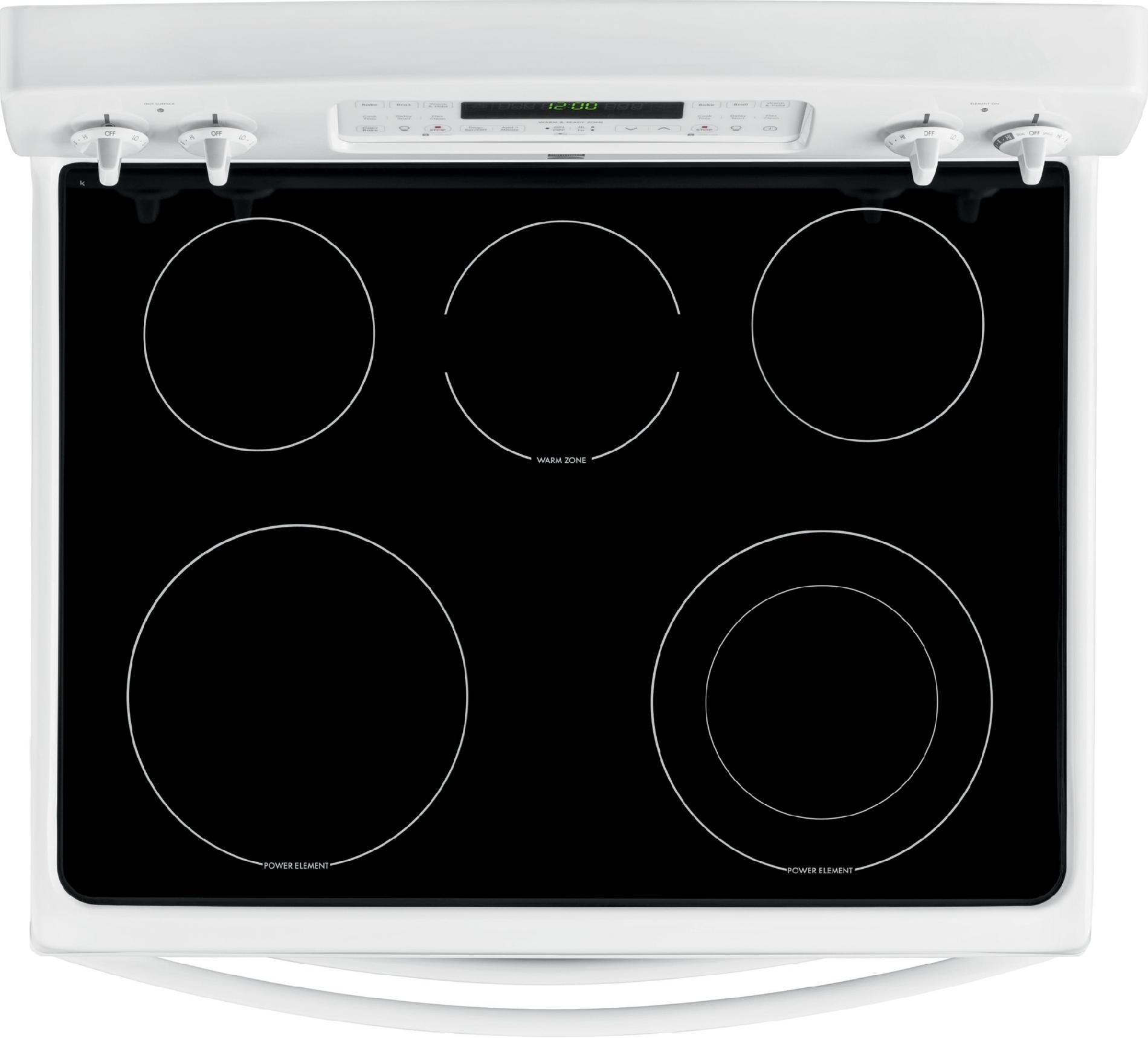 Kenmore 7.0 cu. ft. Double-Oven Electric Range w/ Convection - White