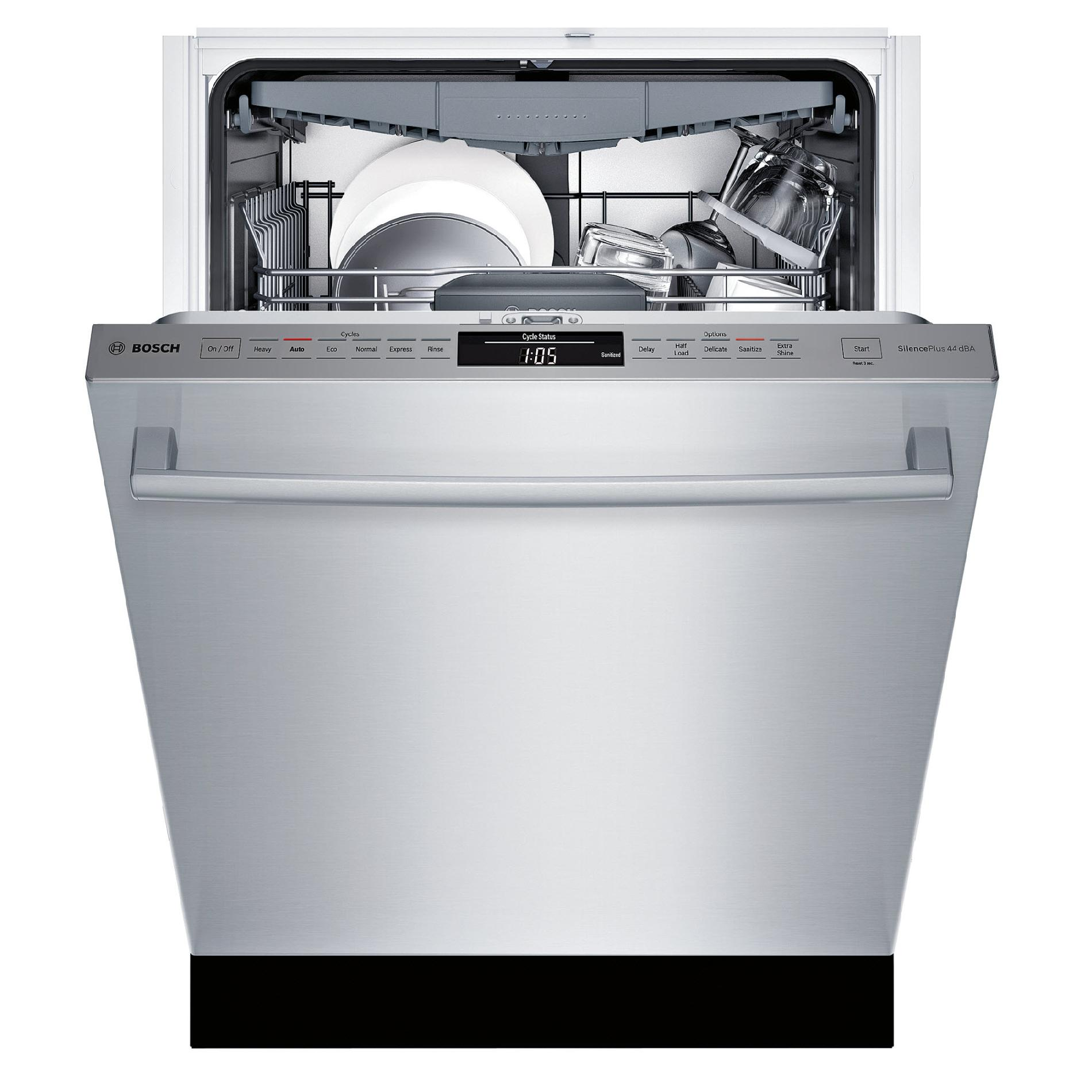 "Bosch SHX68T55UC 24"" 800 Series Built-In Dishwasher - Stainless Steel"