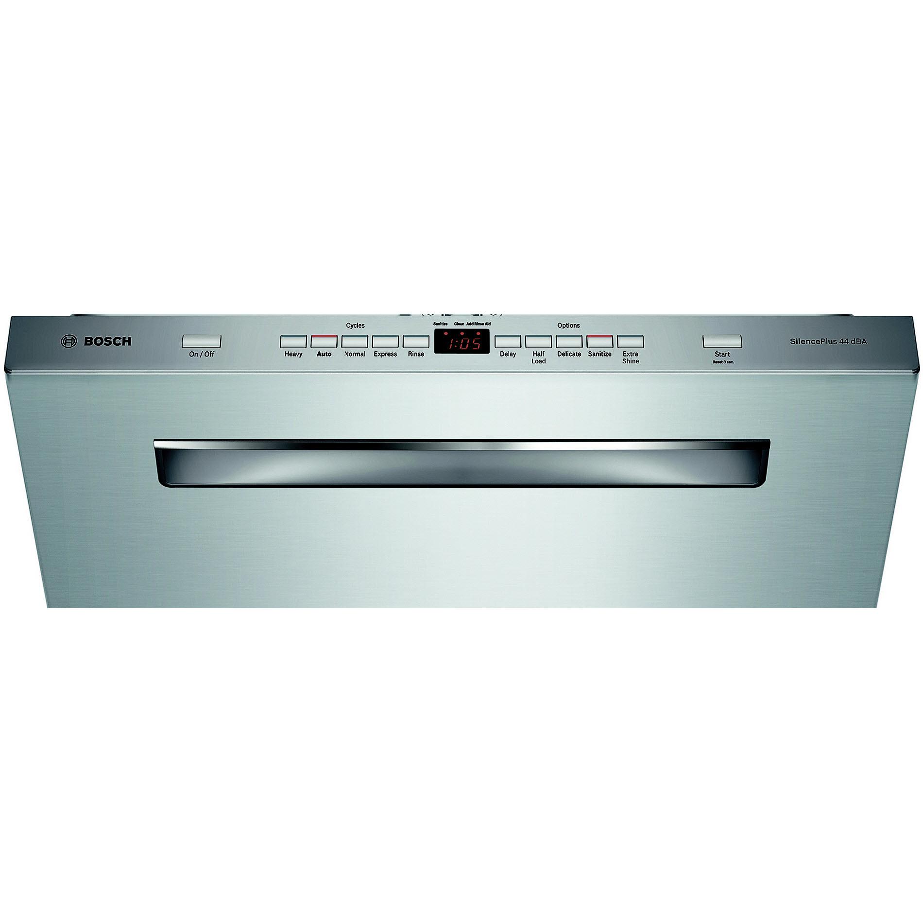 "Bosch 24"" 500 Series Built-In Dishwasher - Stainless Steel"