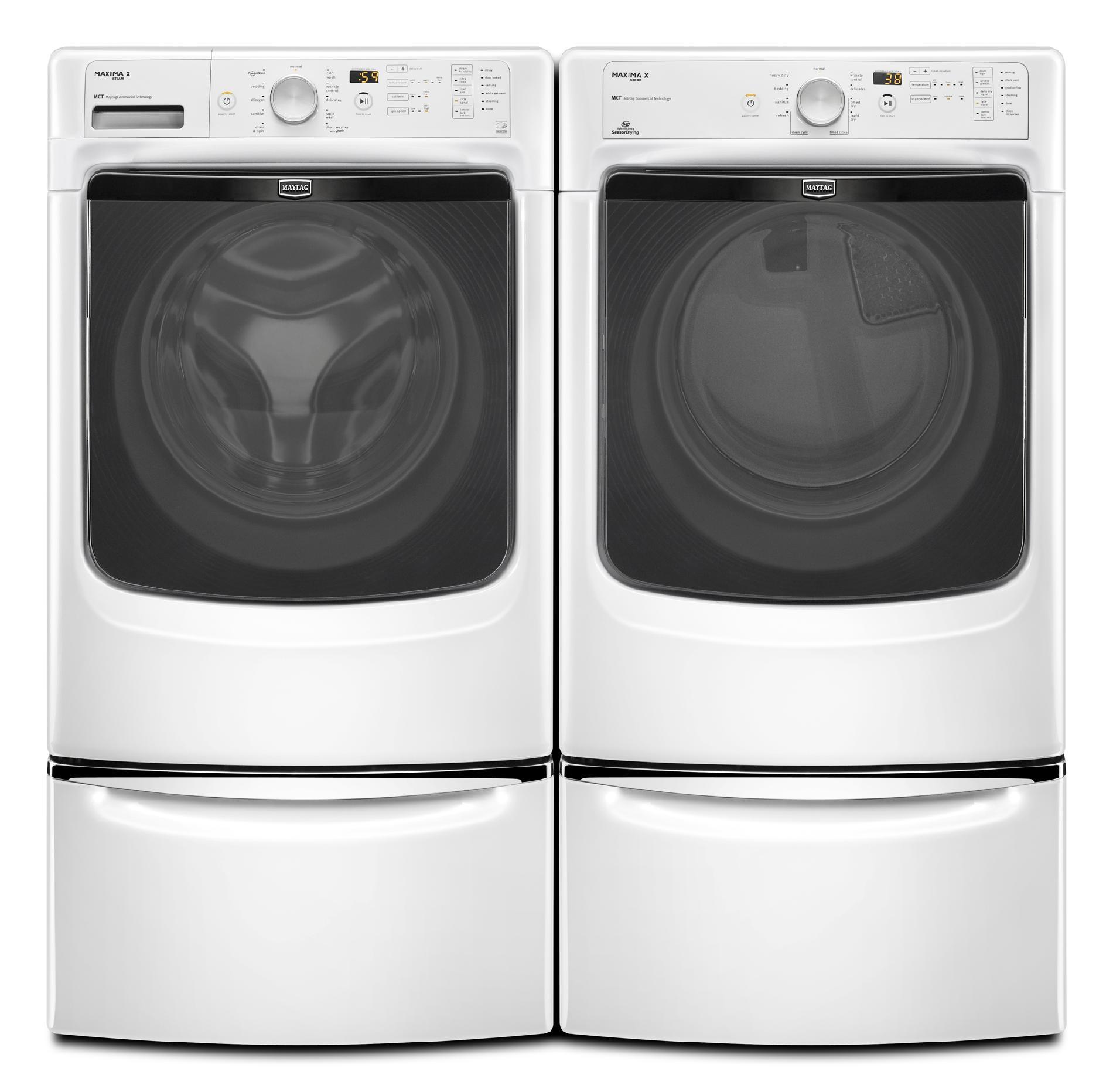 Maytag 7.4 cu. ft. Gas Dryer w/ Steam - White