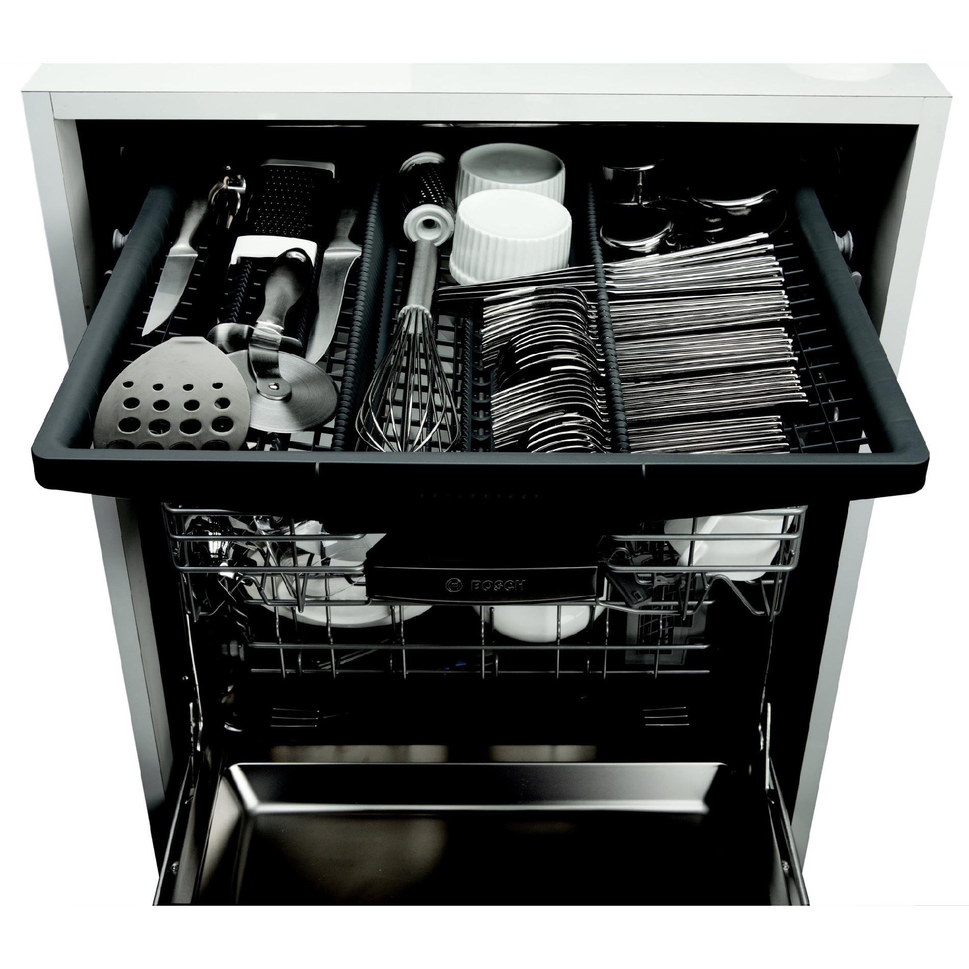 "Bosch SHX65T55UC 24"" 500 Series Built-In Dishwasher - Stainless Steel"