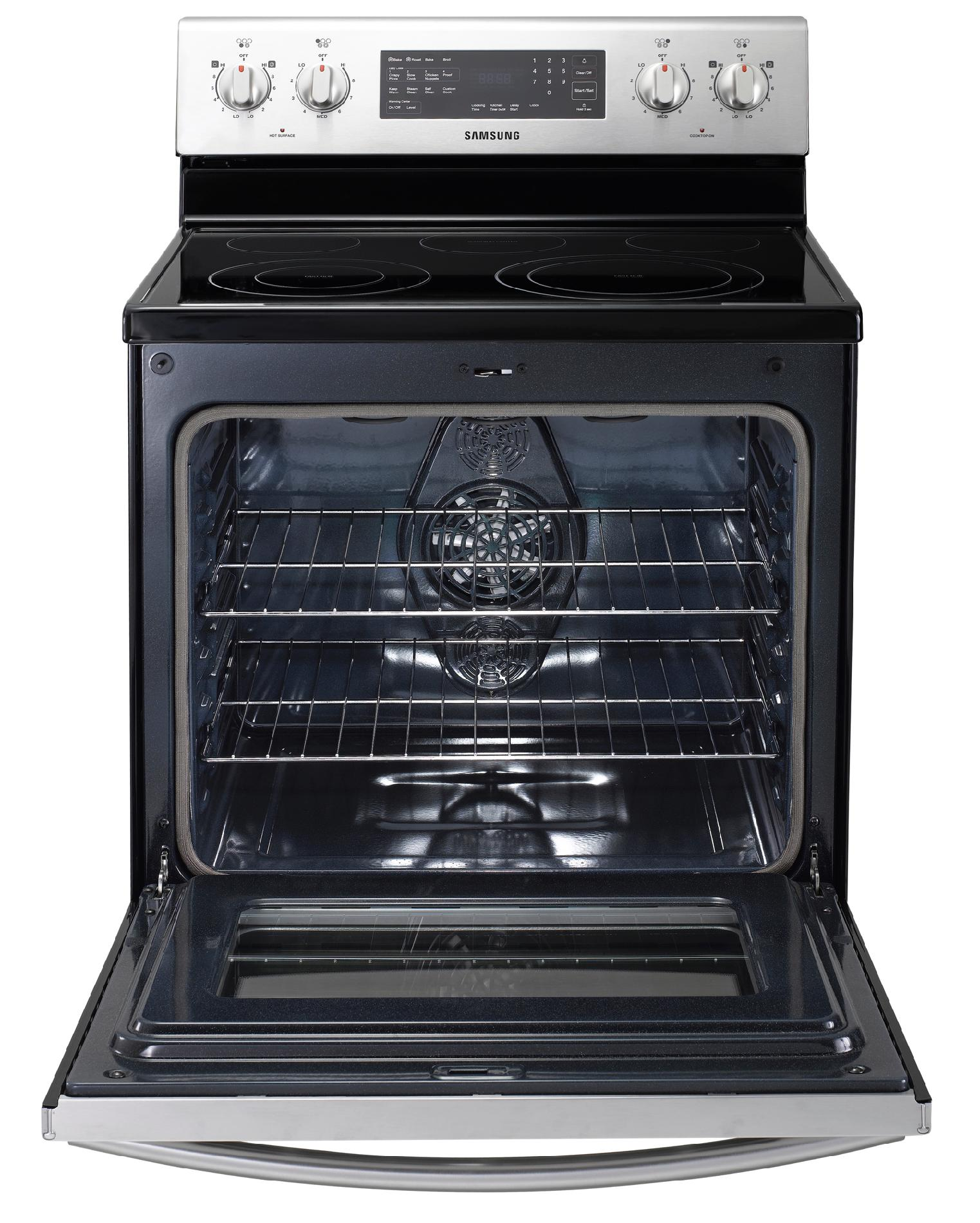 Samsung 5.9 cu. ft. Electric Range w/ Convection - Stainless Steel