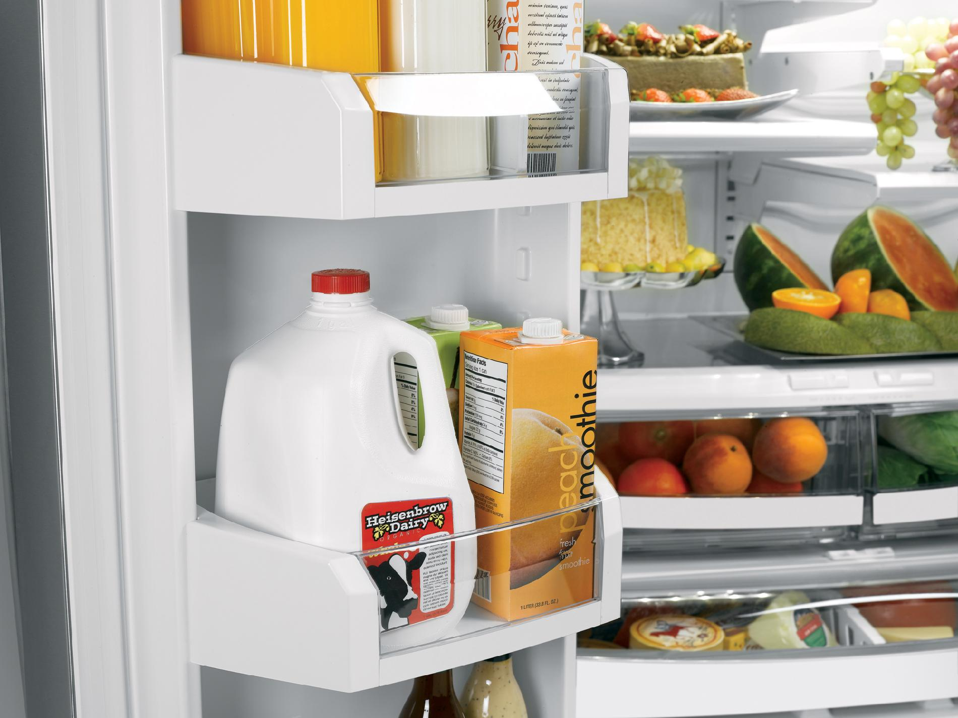 GE Café™ Series 20.8 cu. ft. Counter Depth French Door Bottom Freezer Refrigerator