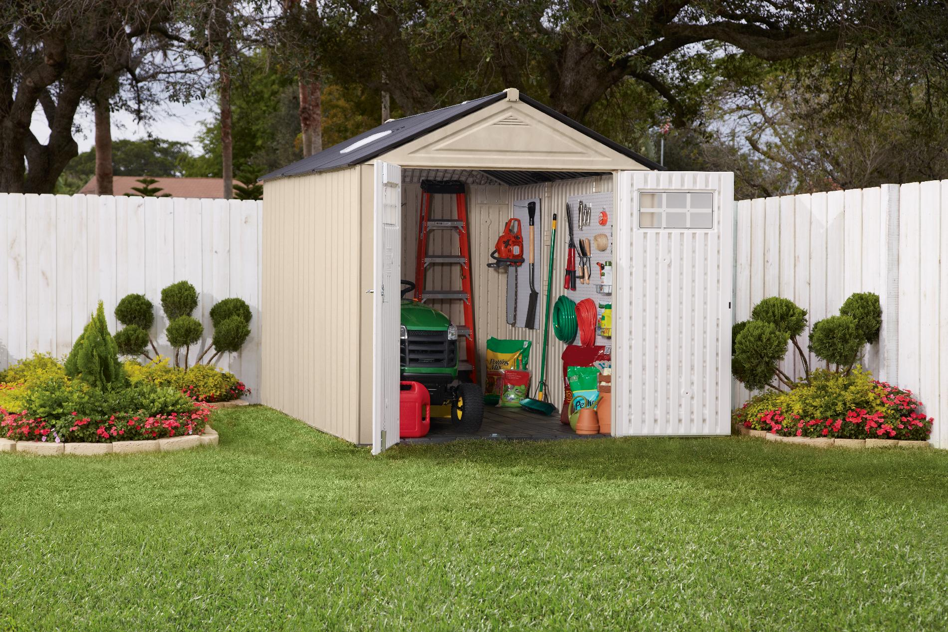 Rubbermaid® Resin Storage Building