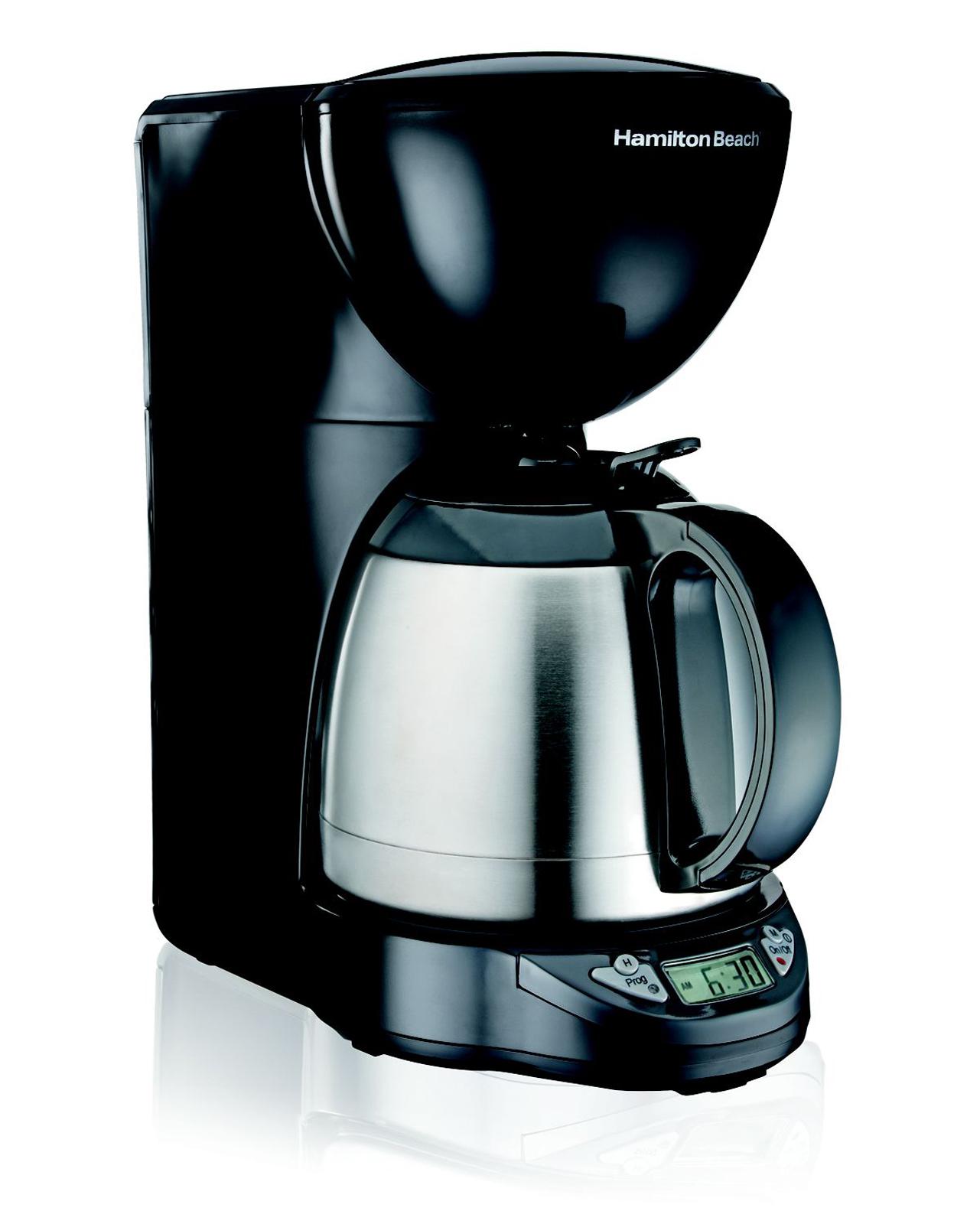 Hamilton Beach Programmable Thermal 10-Cup Coffeemaker