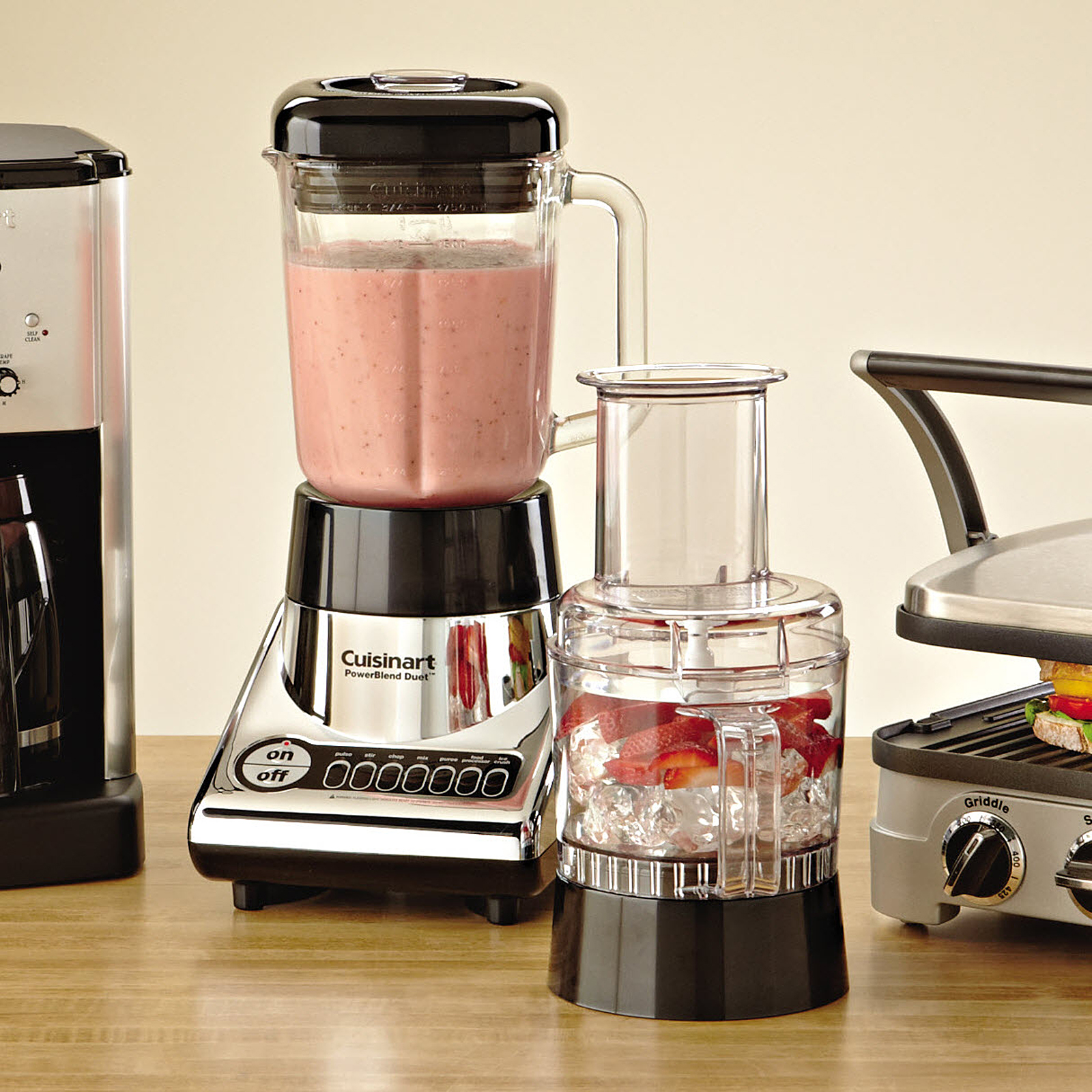 Cuisinart PowerBlend Duet Blender/Food Processor