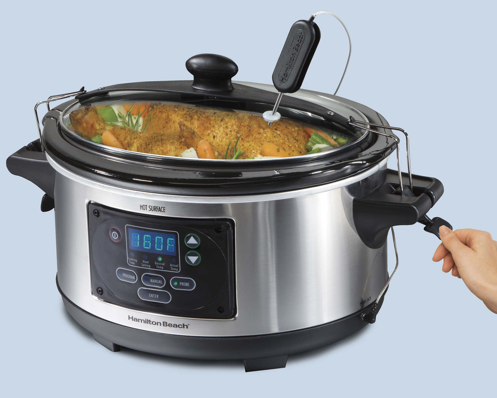 Hamilton Beach Set n Forget® 6 qt. Programmable Slow Cooker