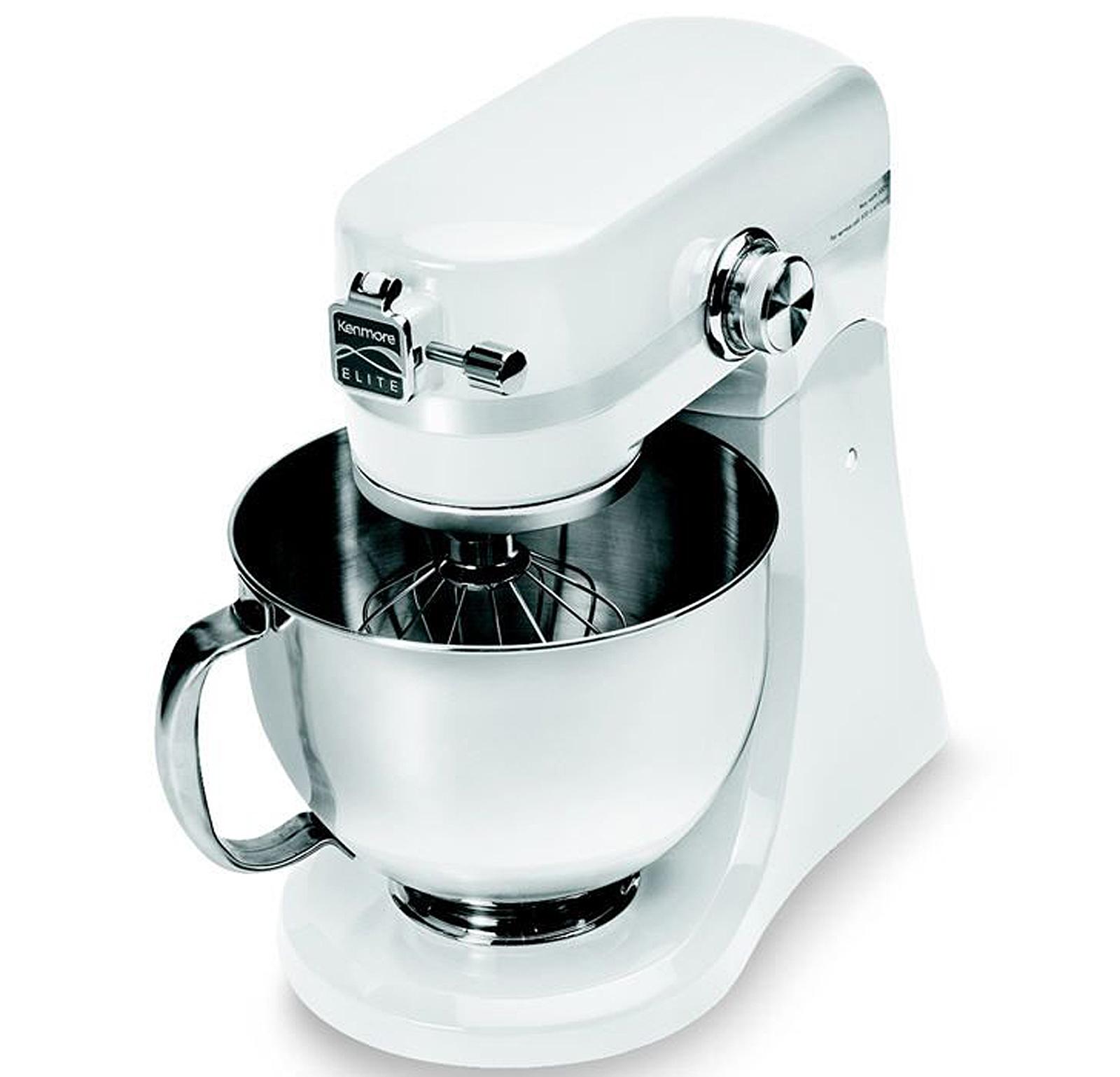 Kenmore Elite® 5 Qt. 400 Watt White Stand Mixer