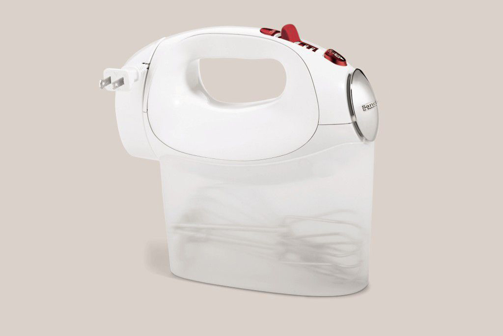 Sandra by Sandra Lee Hand Mixer with Carry Case