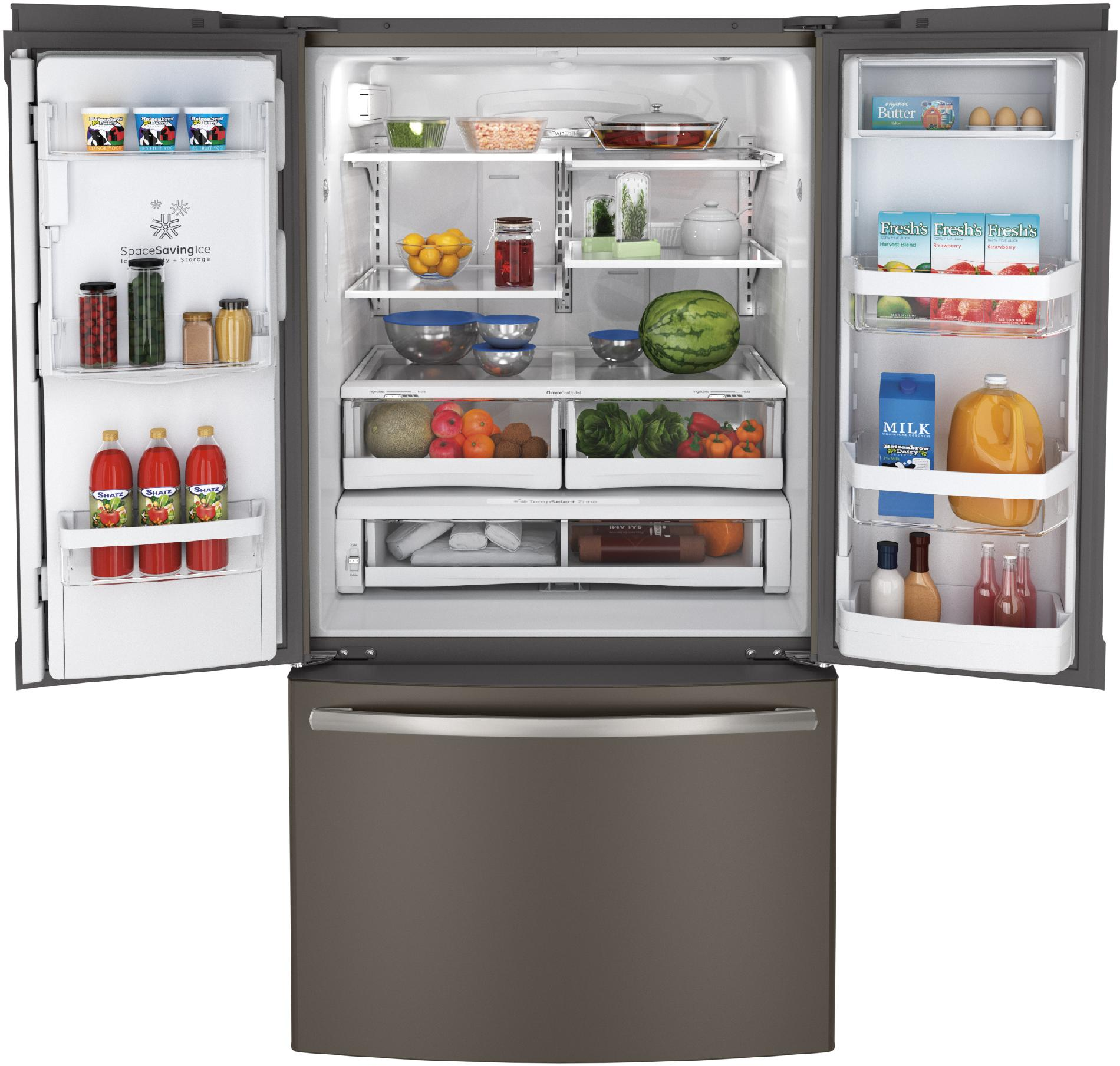 GE 28.6 cu. ft. French Door Refrigerator - Slate