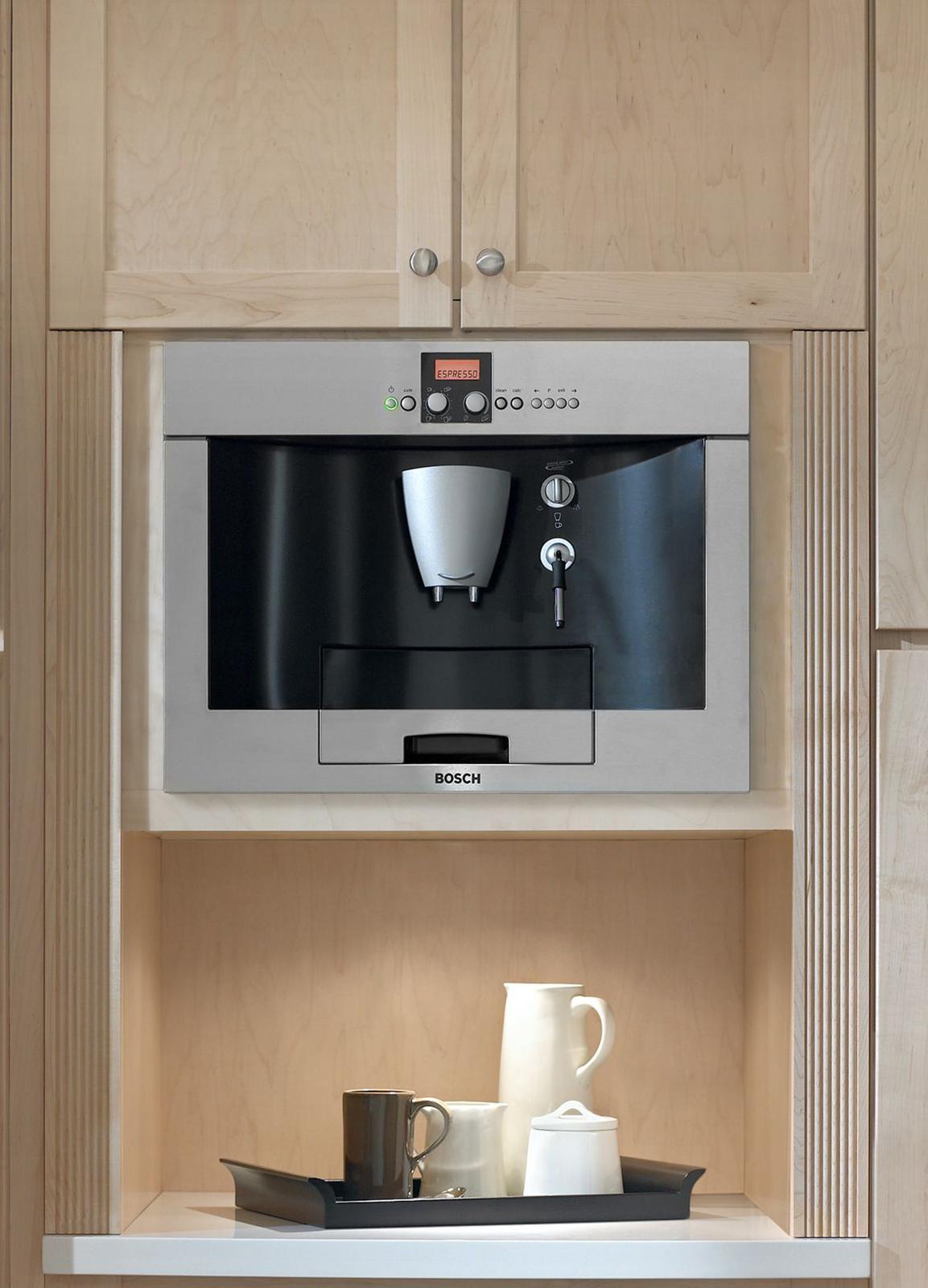Bosch Benvenuto® Built-in Coffee Machine - Stainless steel