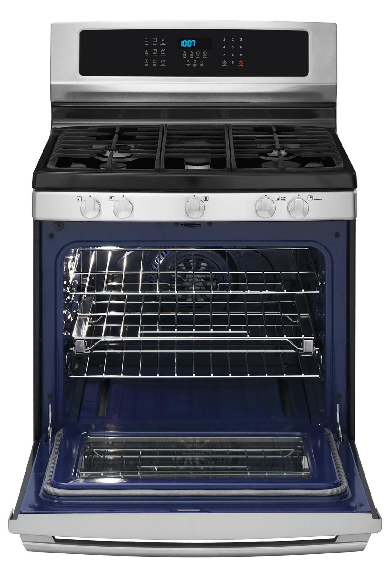 Electrolux EI30GF35JS 5.0 cu. ft. Freestanding Gas Range w/ IQ-Touch™ Controls - Stainless Steel