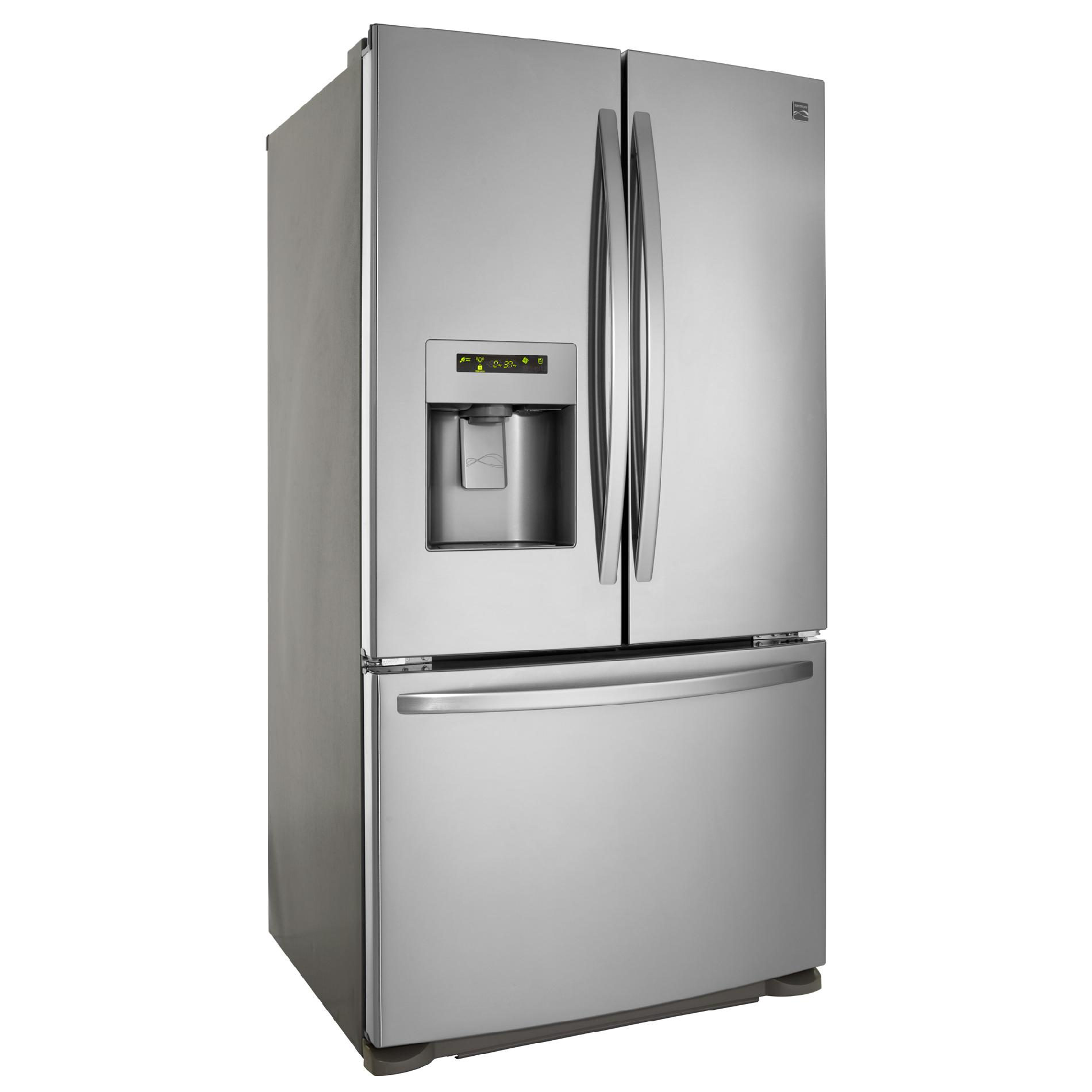 Kenmore 24.1 cu. ft. French Door Bottom-Freezer Refrigerator - Stainless Steel