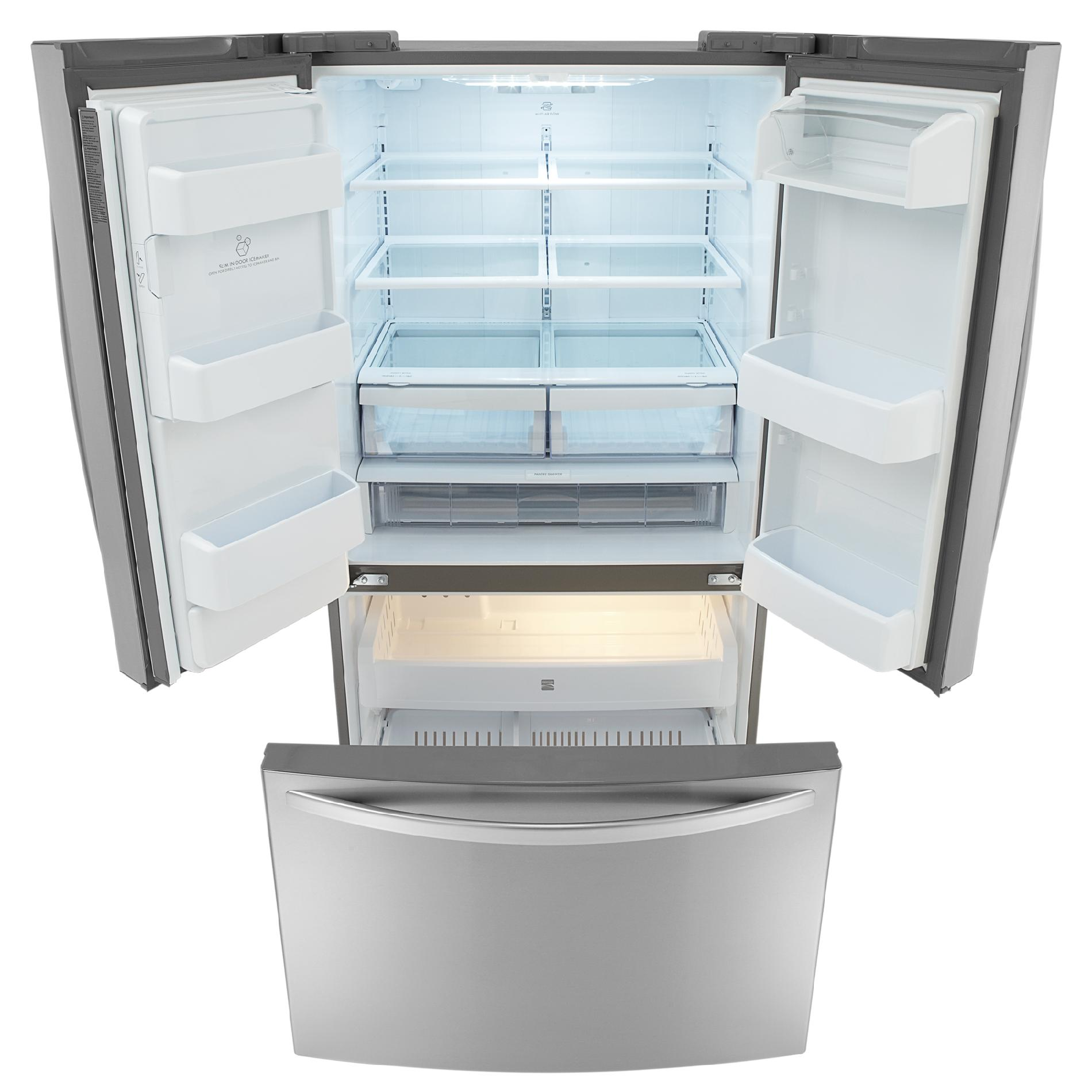 Kenmore 25 cu. ft. French Door Bottom-Freezer Refrigerator - Stainless Steel