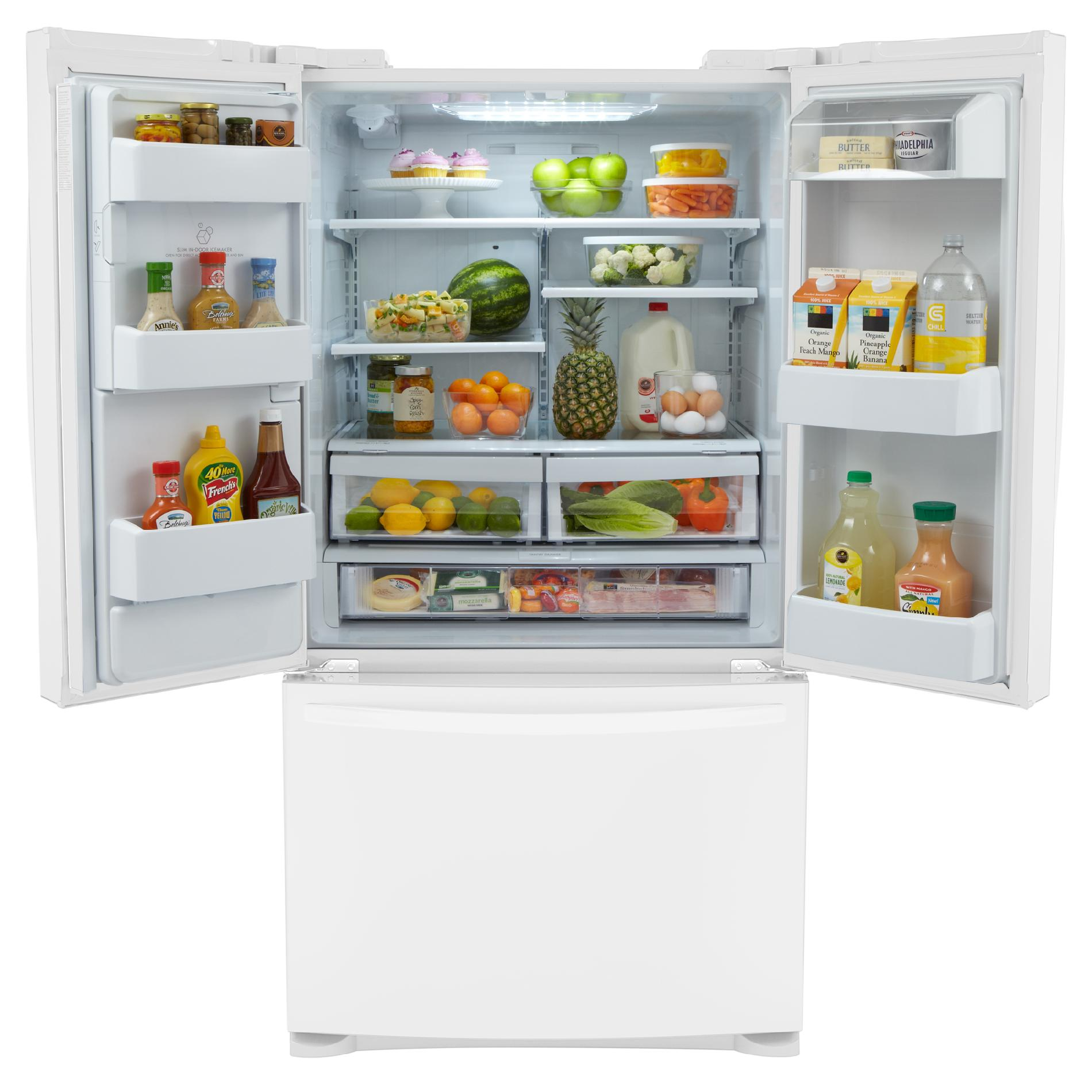 Kenmore 25 cu. ft. French Door Bottom-Freezer Refrigerator -  White