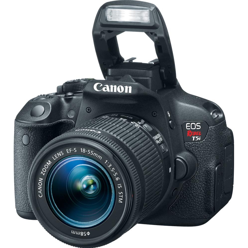 Canon EOS Rebel T5i 18-Megapixel Digial Camera 18-55mm IS STM Kit